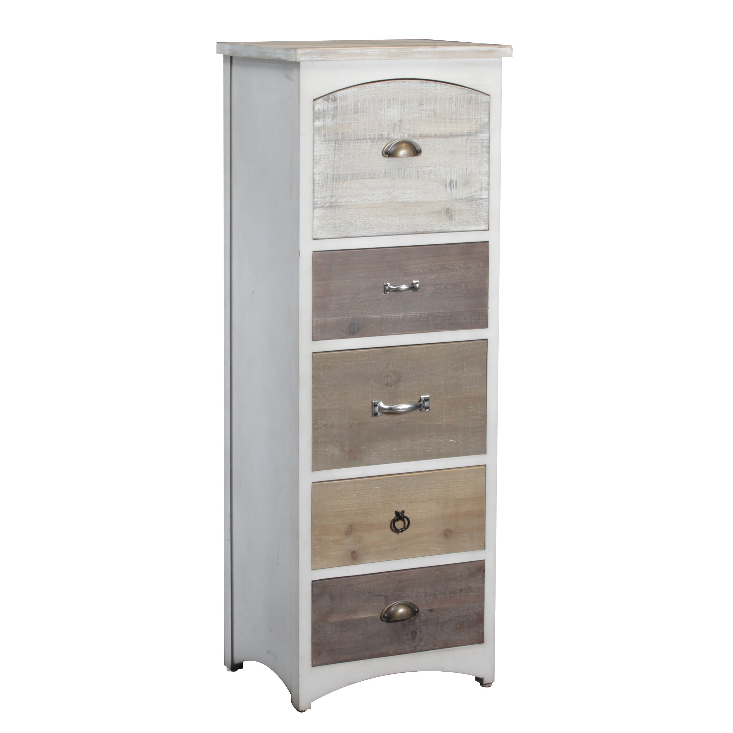 Andover Mills reg  Brighton Tall 5 Drawer Lingerie Chest. Andover Mills Brighton Tall 5 Drawer Lingerie Chest   Reviews