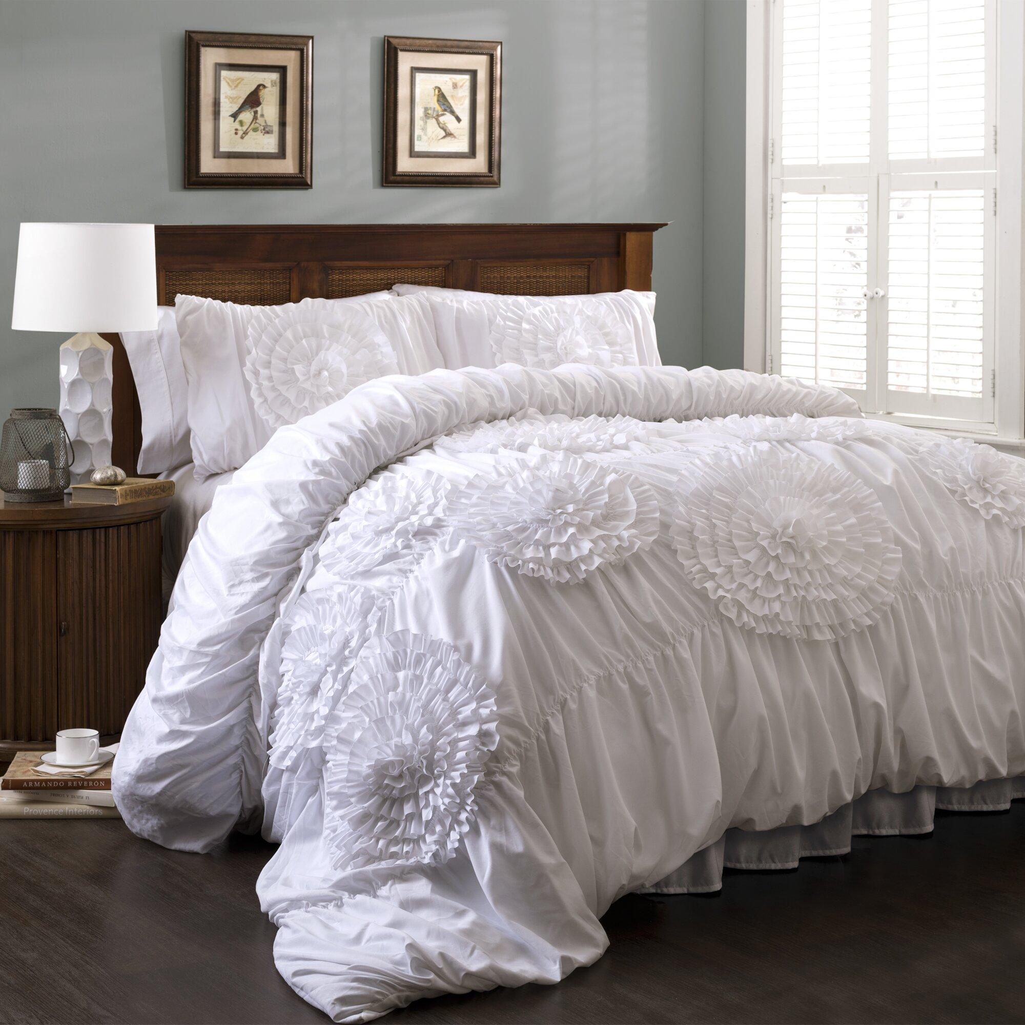 August Grove Elmira 3 Piece Comforter Set Amp Reviews Wayfair