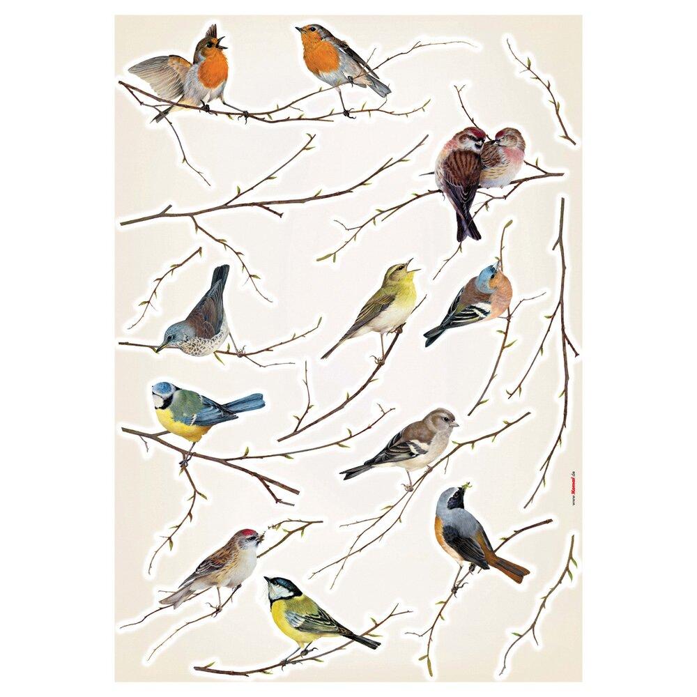 August Groveu0026reg; Erie Living Birds Wall Decal