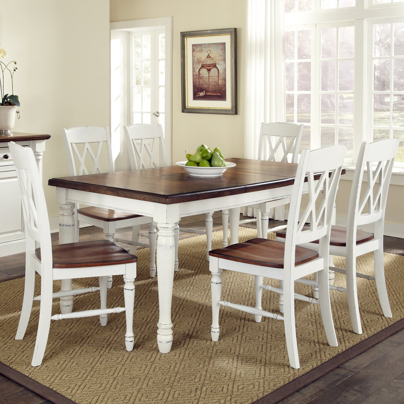 shyanne  piece dining set august grovecae shyanne  piece dining set: seven piece dining set