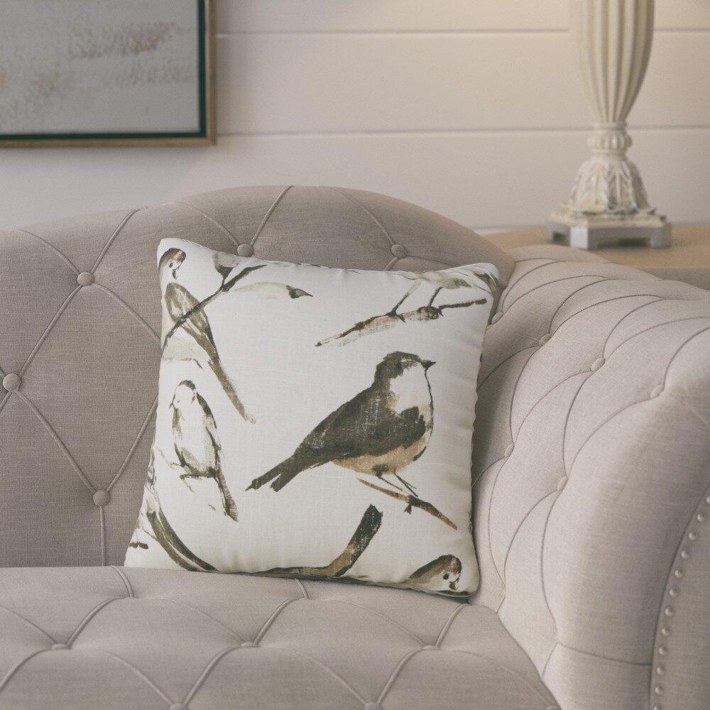 August Grove Eldora Cotton Throw Pillow & Reviews | Wayfair - August Grove® Eldora Cotton Throw Pillow
