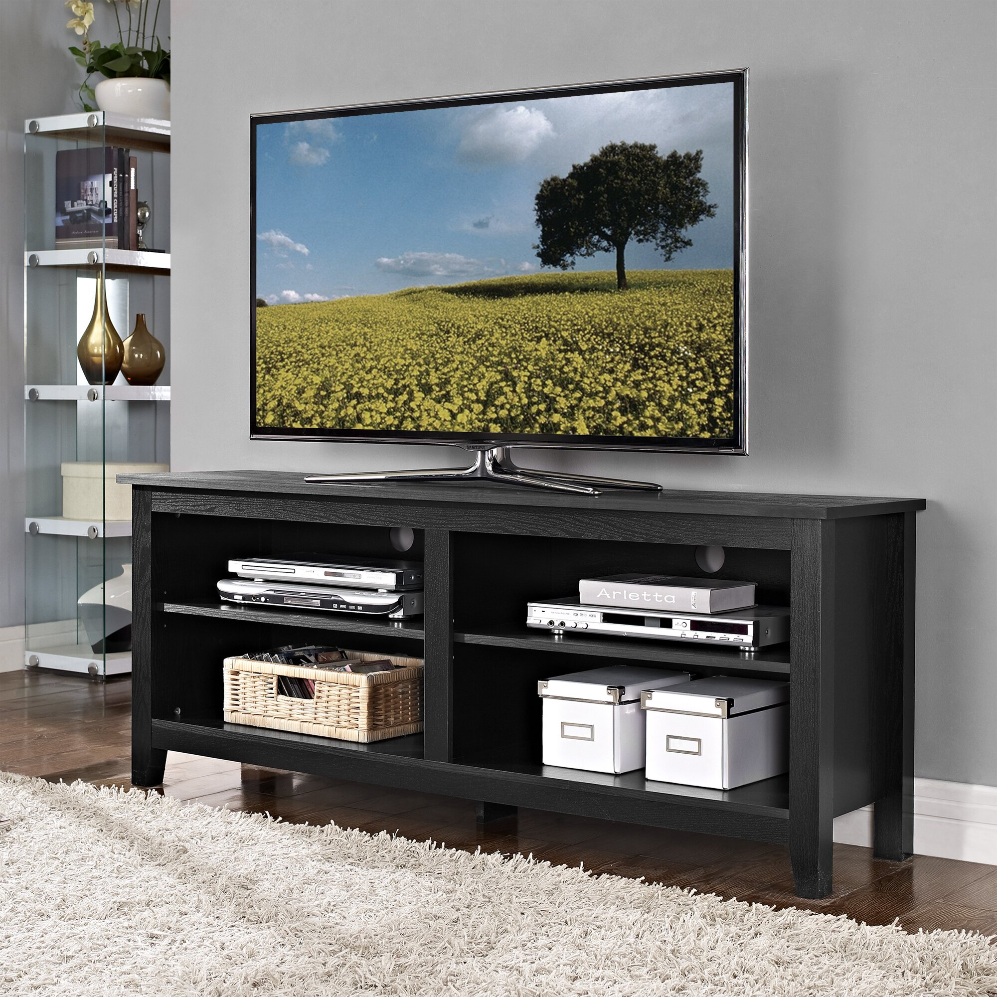 Beachcrest home sunbury tv stand reviews wayfair Home furniture tv stands