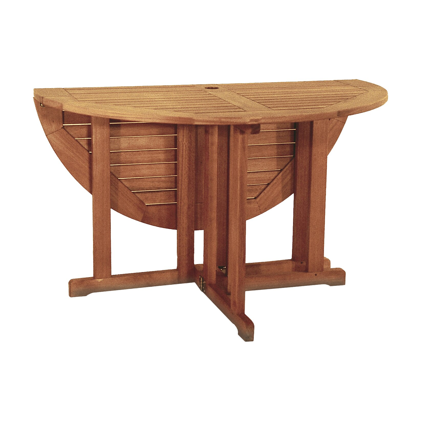 beachcrest home collinsville round folding dining table  reviews, Dining tables