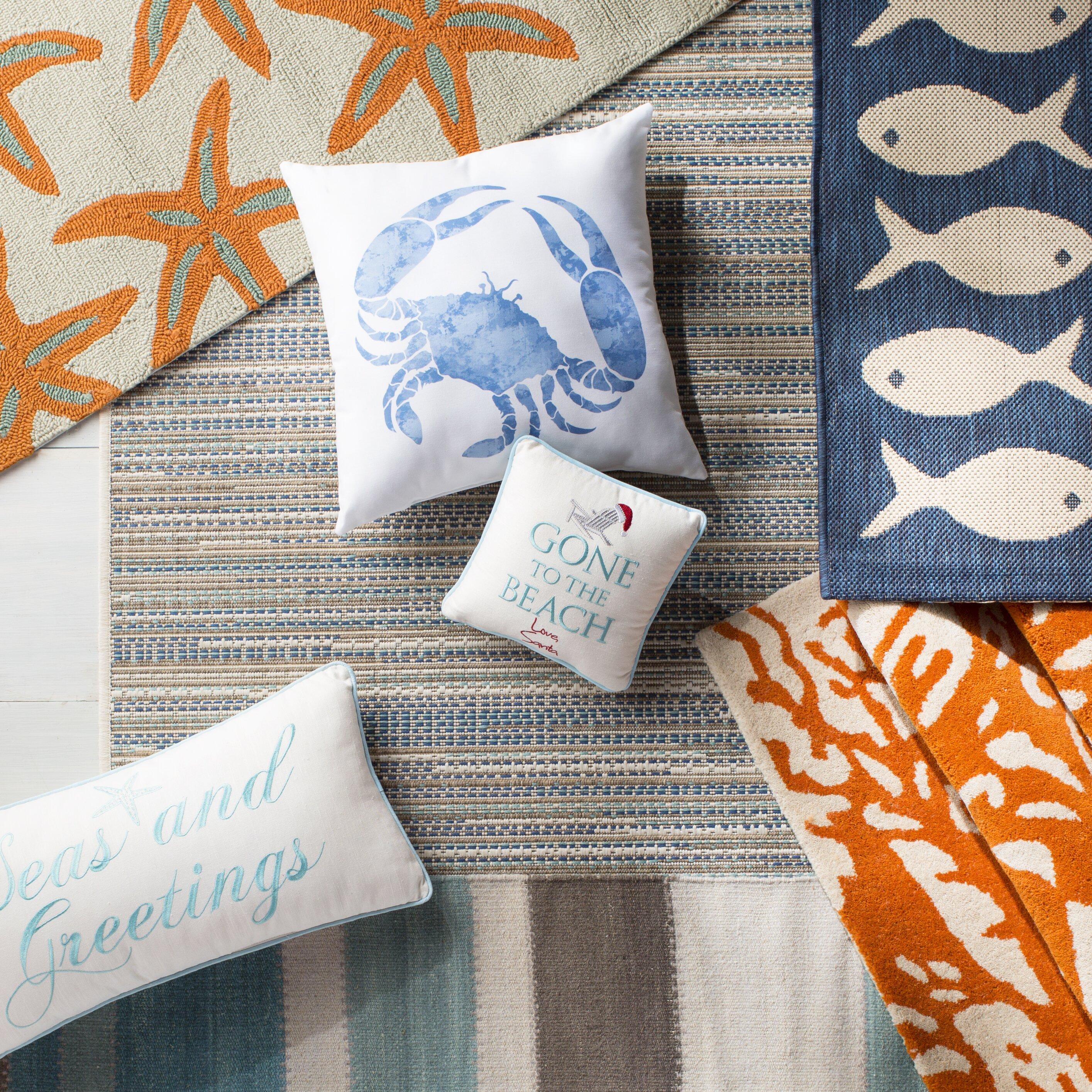 At Home Outdoor Rugs Part - 49: Beachcrest Homeu0026trade; Starfish Indoor/Outdoor Rug In Burnt Orange