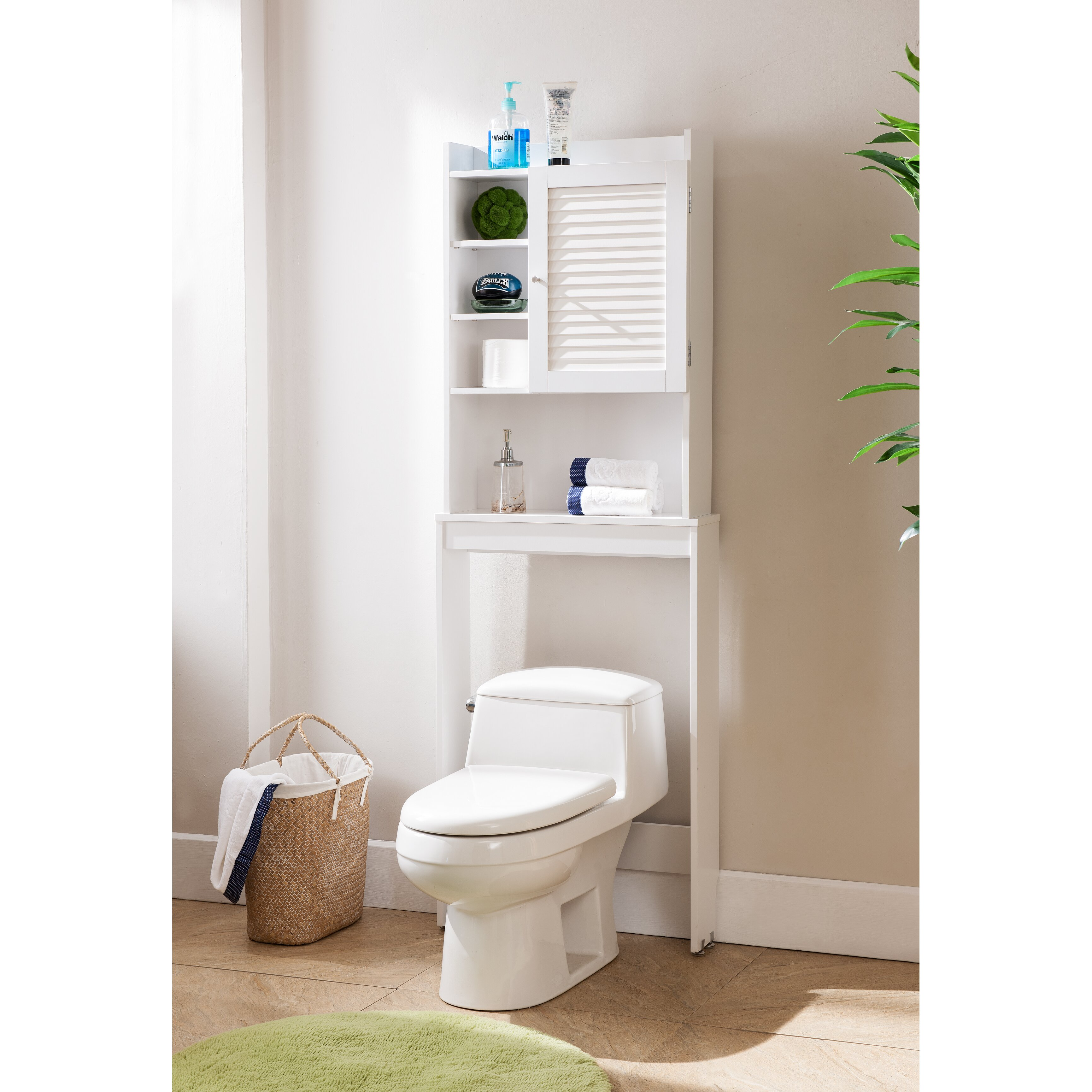 Beachcrest Home Hollister 24 Quot W X 67 Quot H Over The Toilet