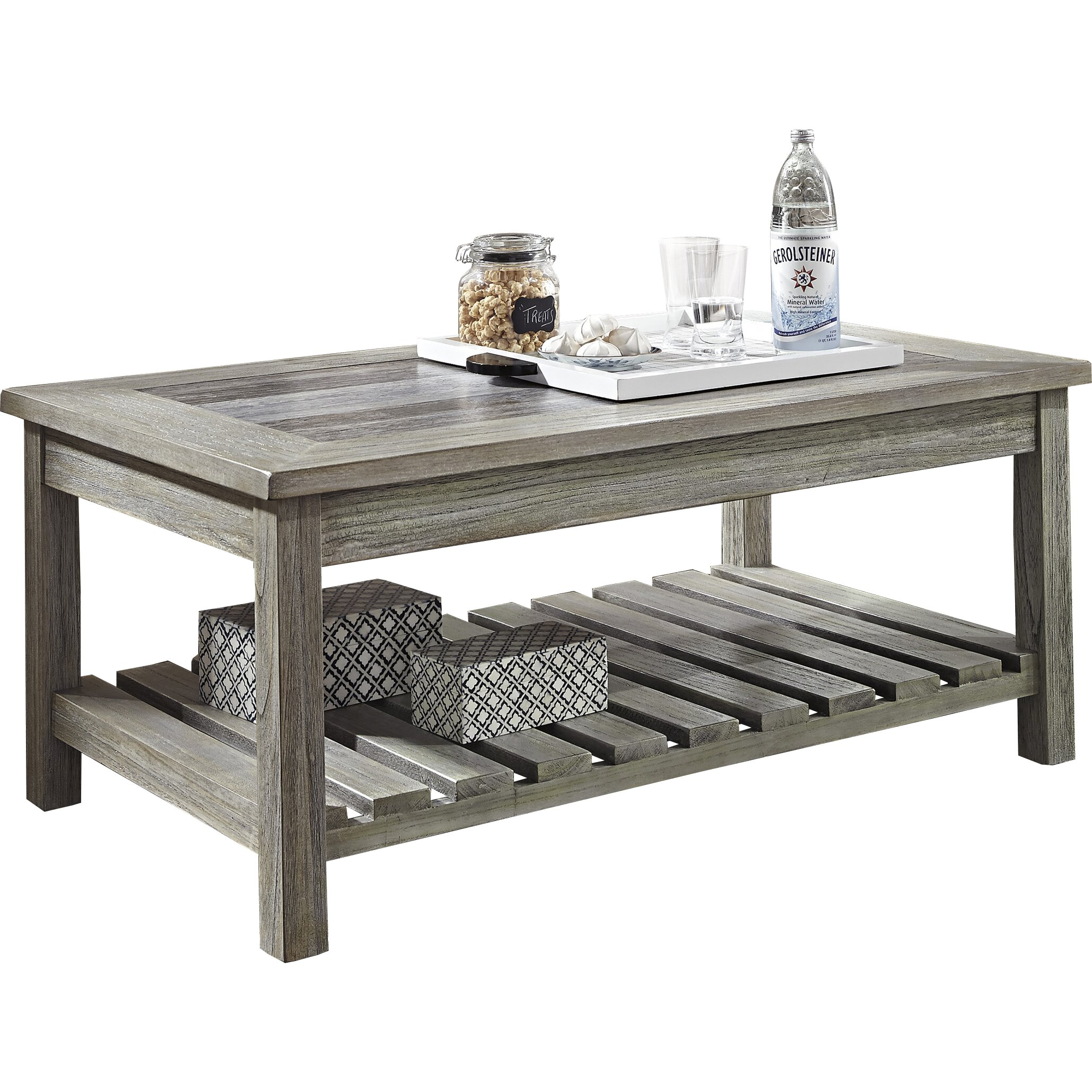 Beachcrest Home Briarwood Coffee Table with Magazine Rack & Reviews | Wayfair.ca