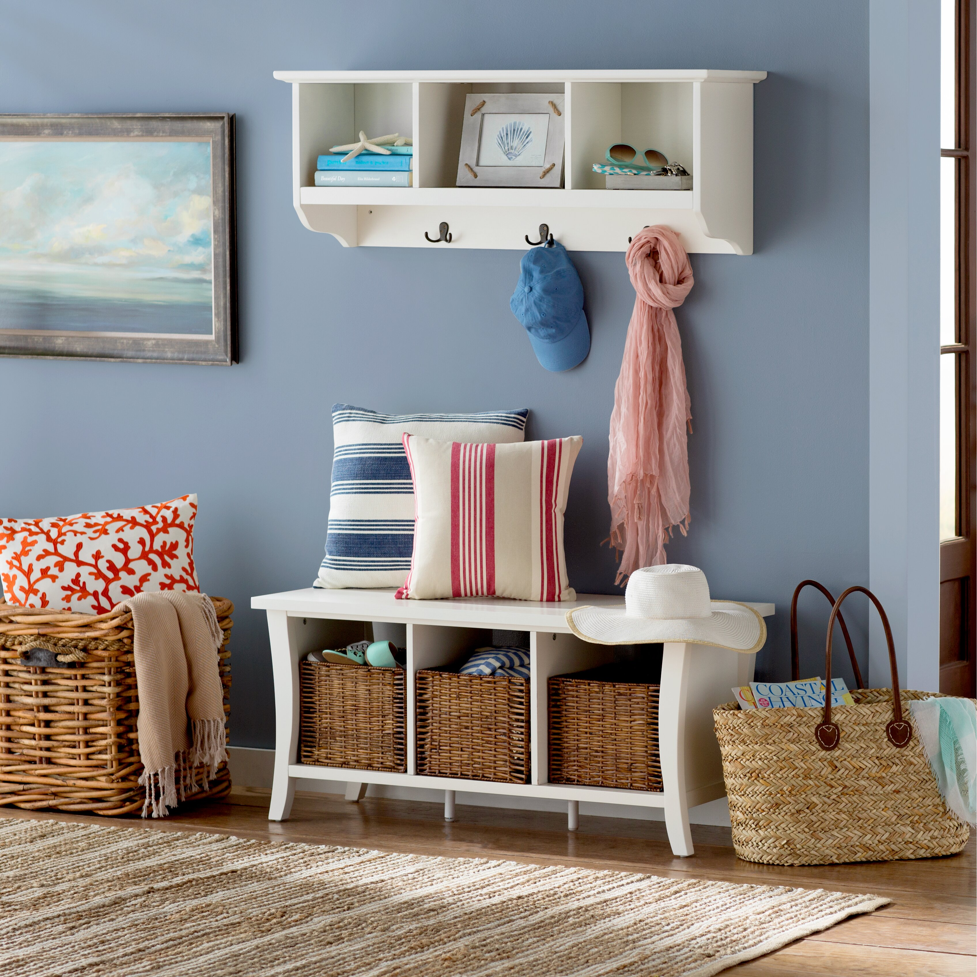 Living Room Bench With Storage