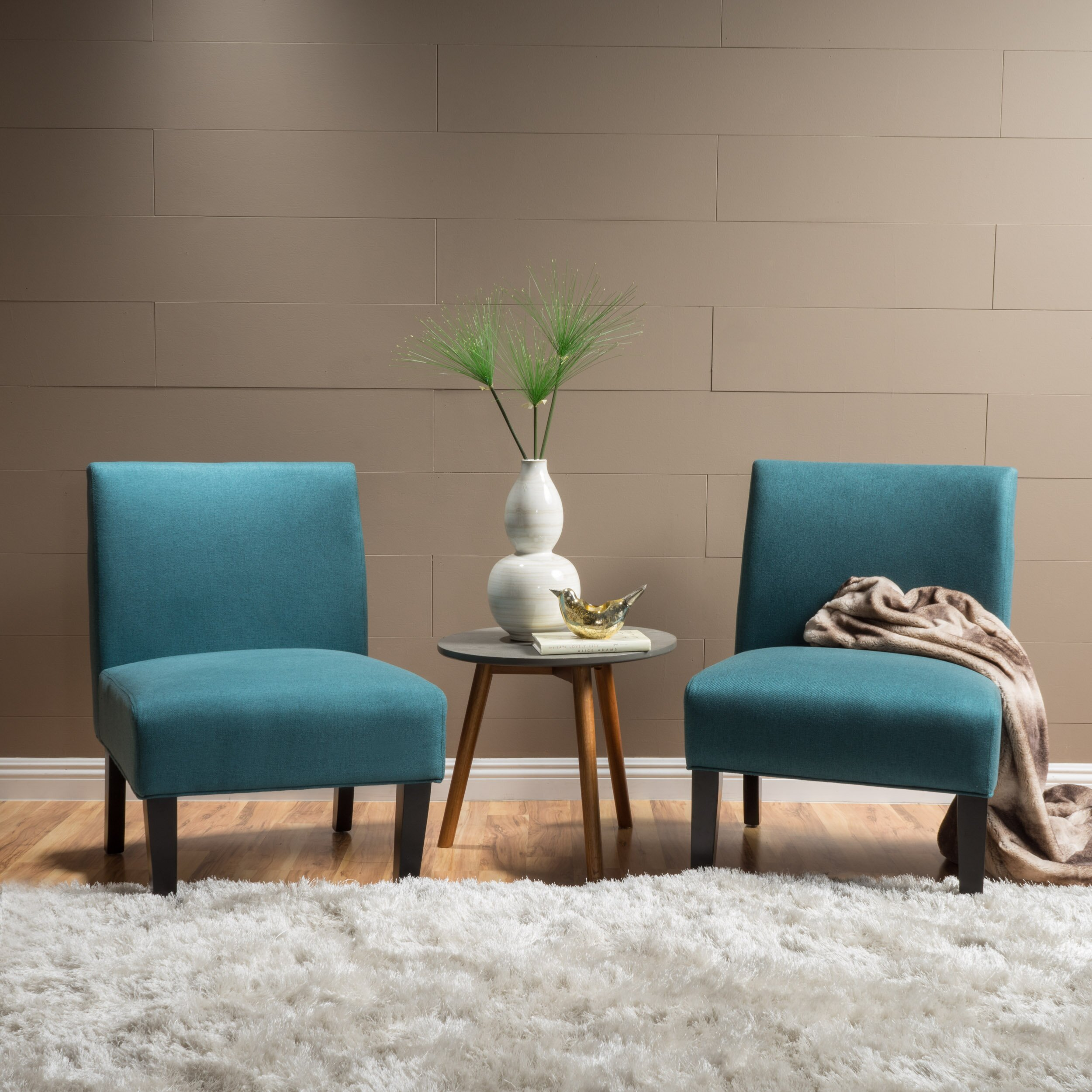 Living Room Side Chair - Webster slipper side chair reviews birch lane living room