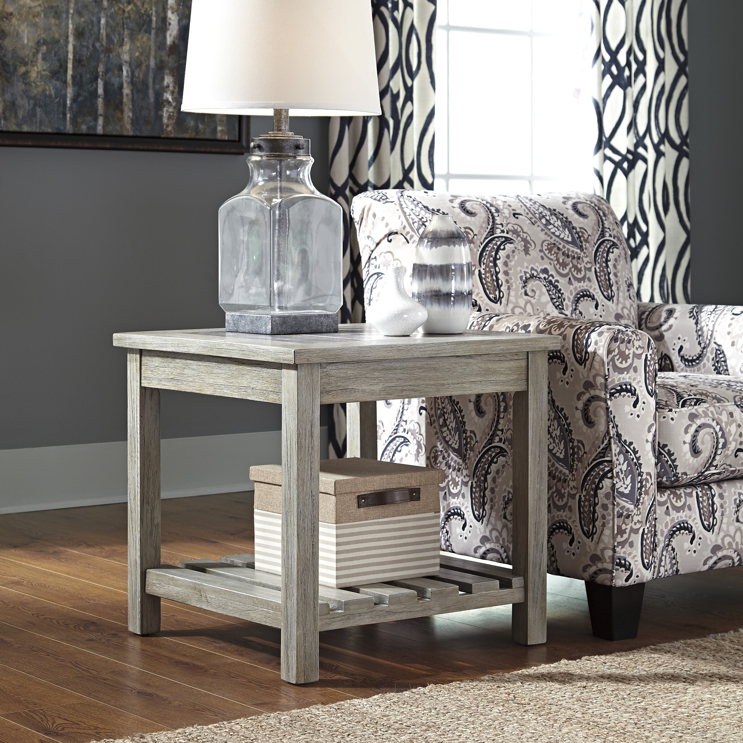 Briarwood Bathroom Cabinets Beachcrest Home Briarwood End Table Reviews Wayfair