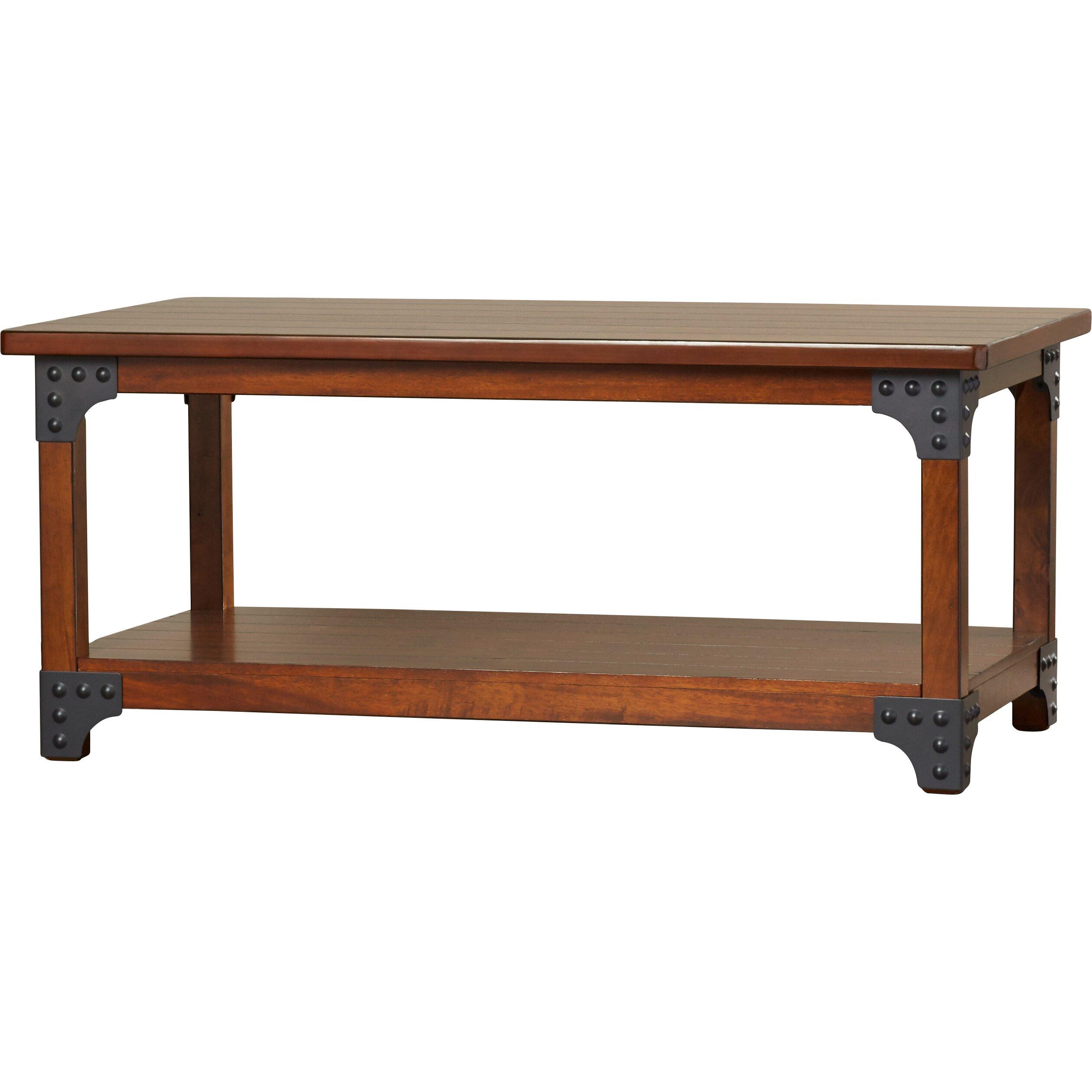Coffee Table Set Of 3 Loon Peak Penrose Portland 3 Piece Coffee Table Set Reviews