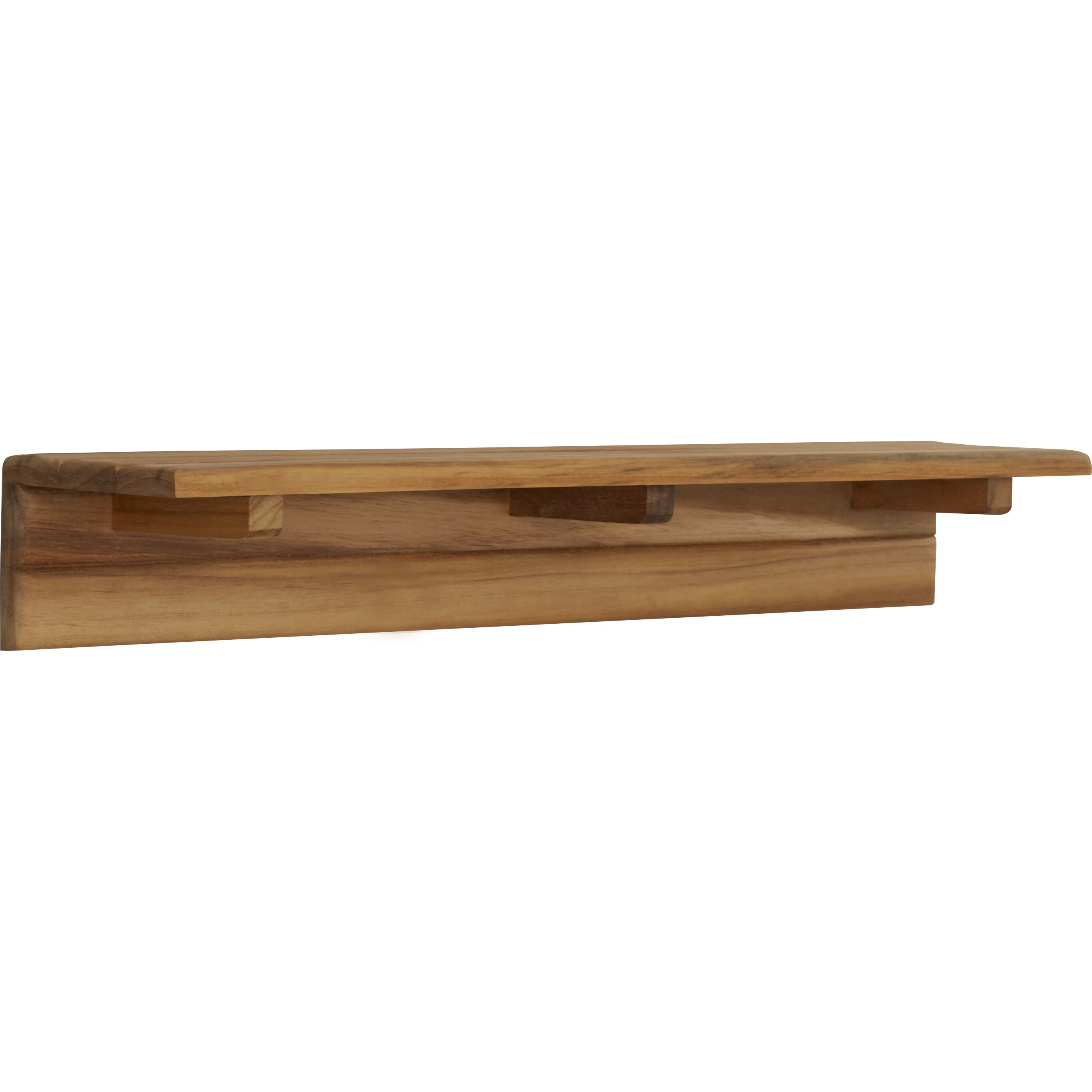 Bathroom Shelf Loon Peak Double Spring Bathroom Shelf Reviews Wayfair