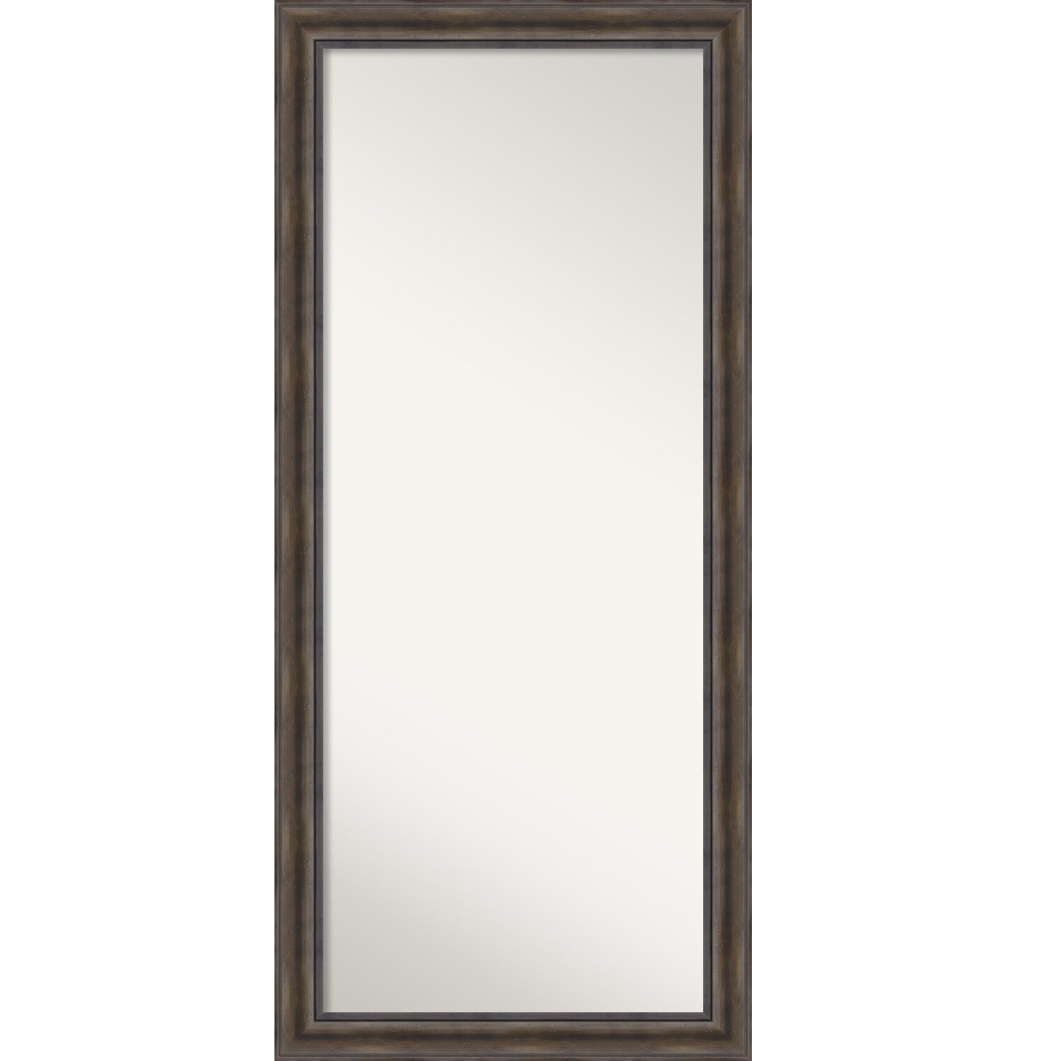 Loon peak rockwood rustic pine floor wall mirror wayfair for Floor wall mirror