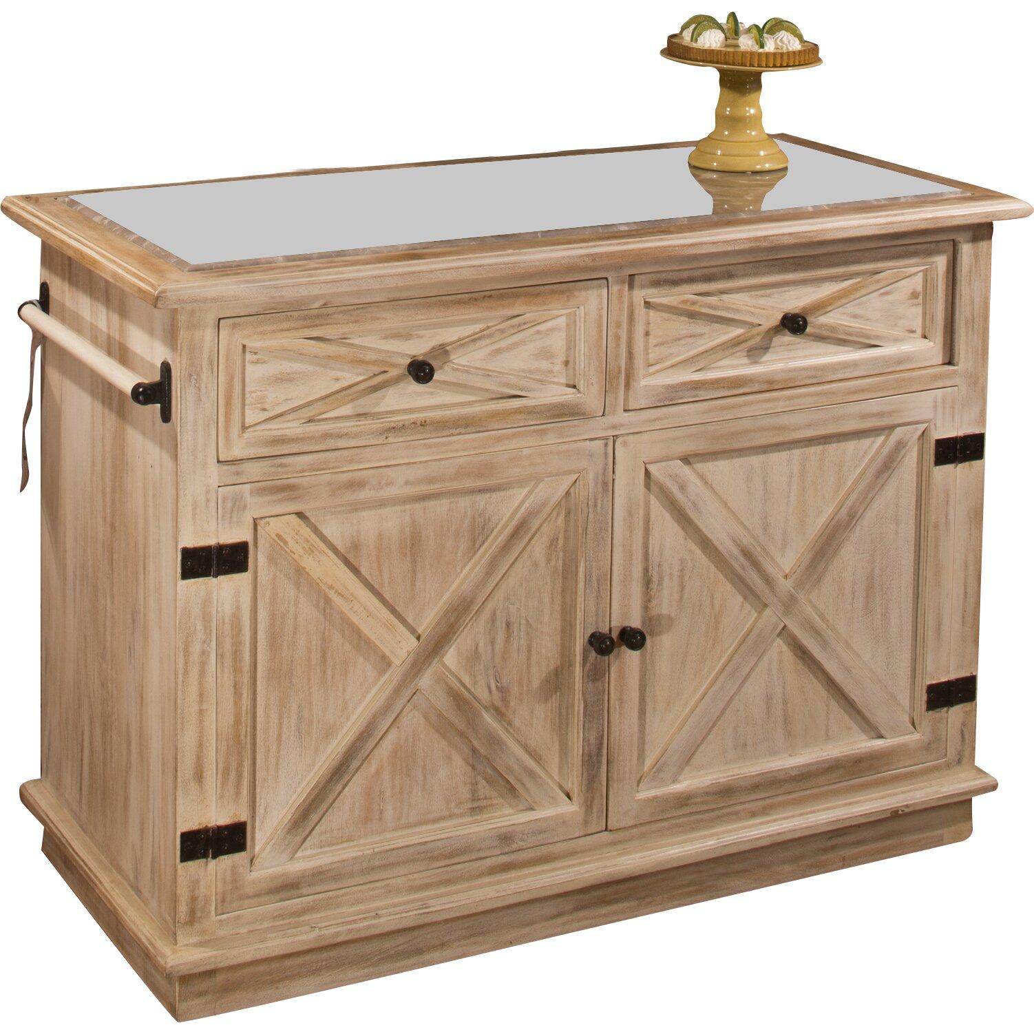 loon peak glenwood springs kitchen island with marble top