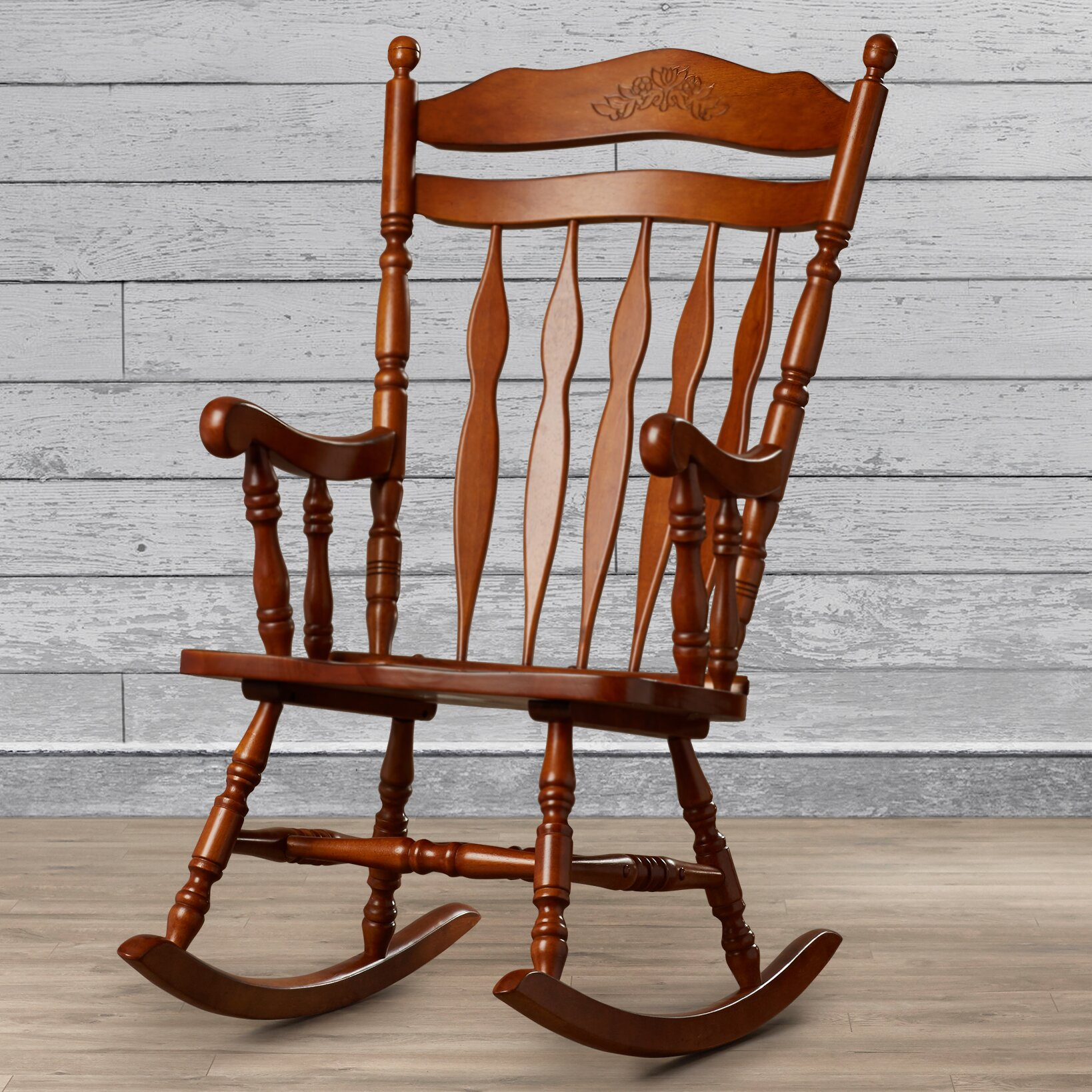 Loon Peak Greenwood Rocking Chair & Reviews  Wayfair