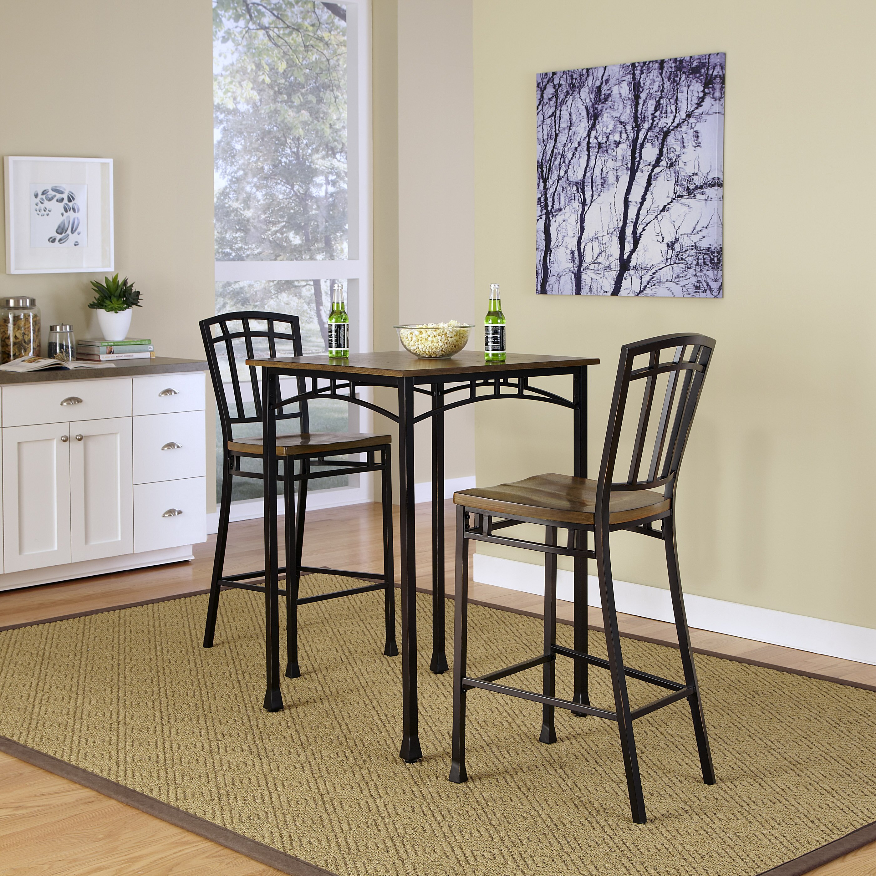 Industrial Pub Table Sets Pub Tables Bistro Sets Youll Love Wayfair