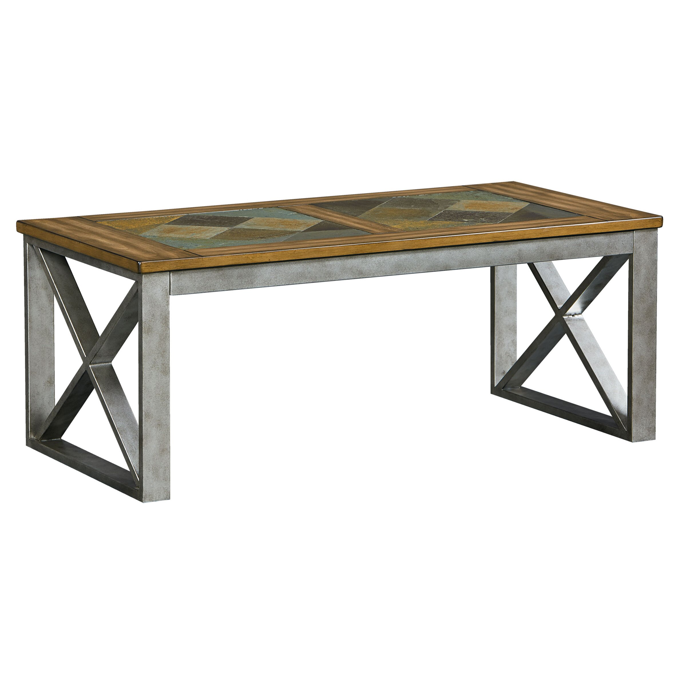 Industrial Round Coffee Table Industrial Coffee Tables Youll Love Wayfair