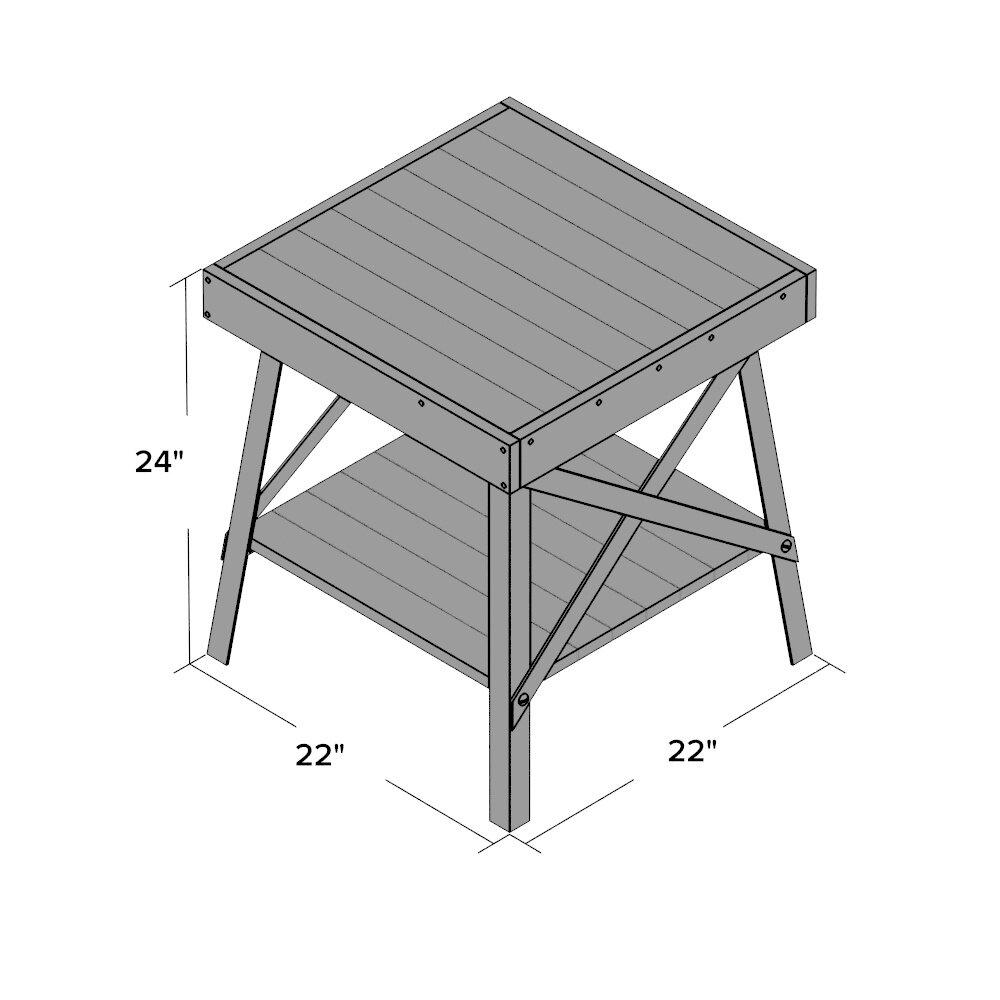 Trent Austin Design Laguna Coffee Table Reviews: Trent Austin Design Laguna End Table & Reviews