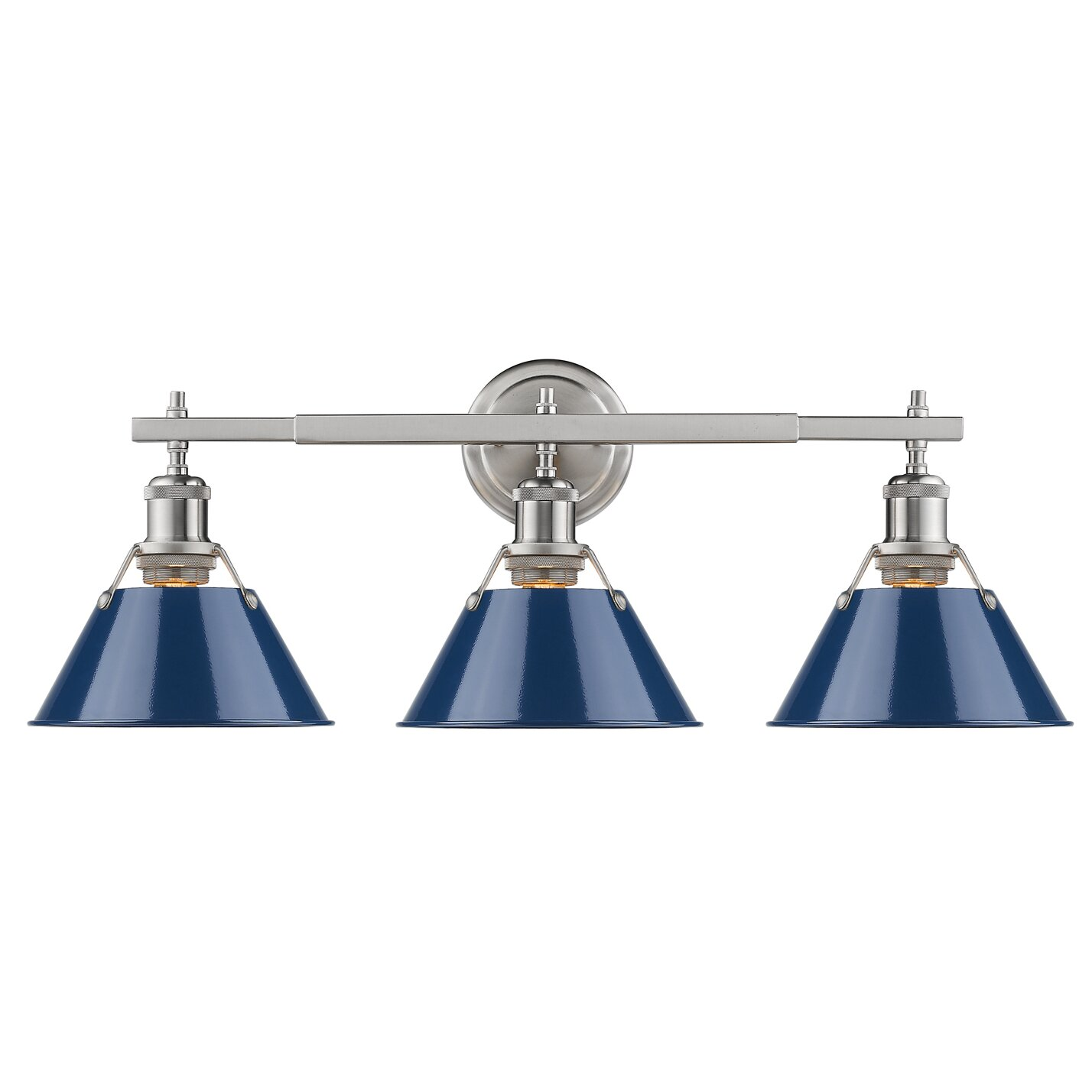Trent Austin Design Weatherford 3 Light Vanity Light