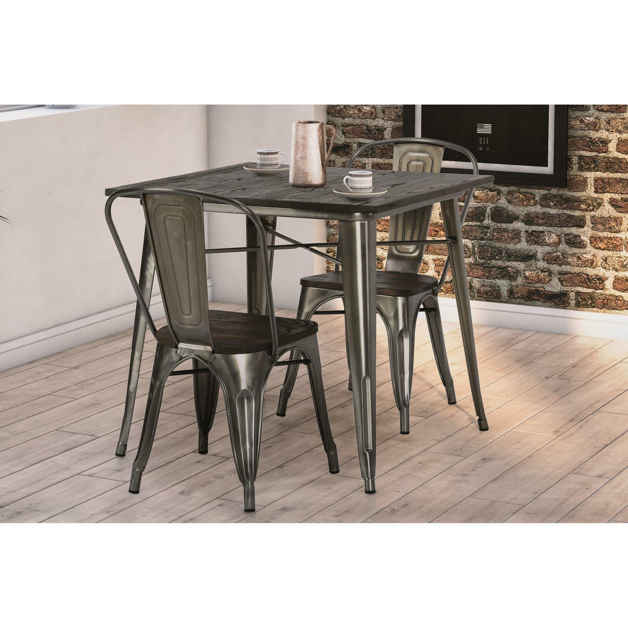 trent austin design fortuna dining table reviews wayfair