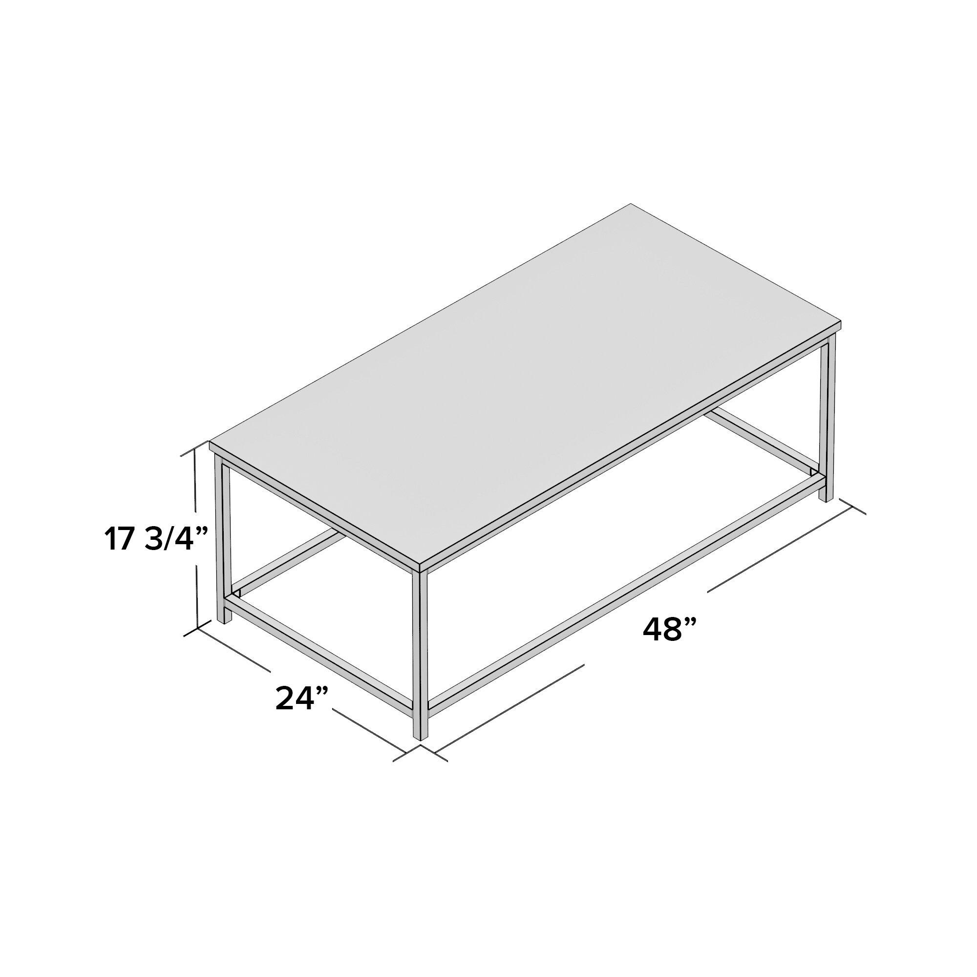 Imperial Coffee Table Imperial Beach Alec Coffee Table Reviews Allmodern
