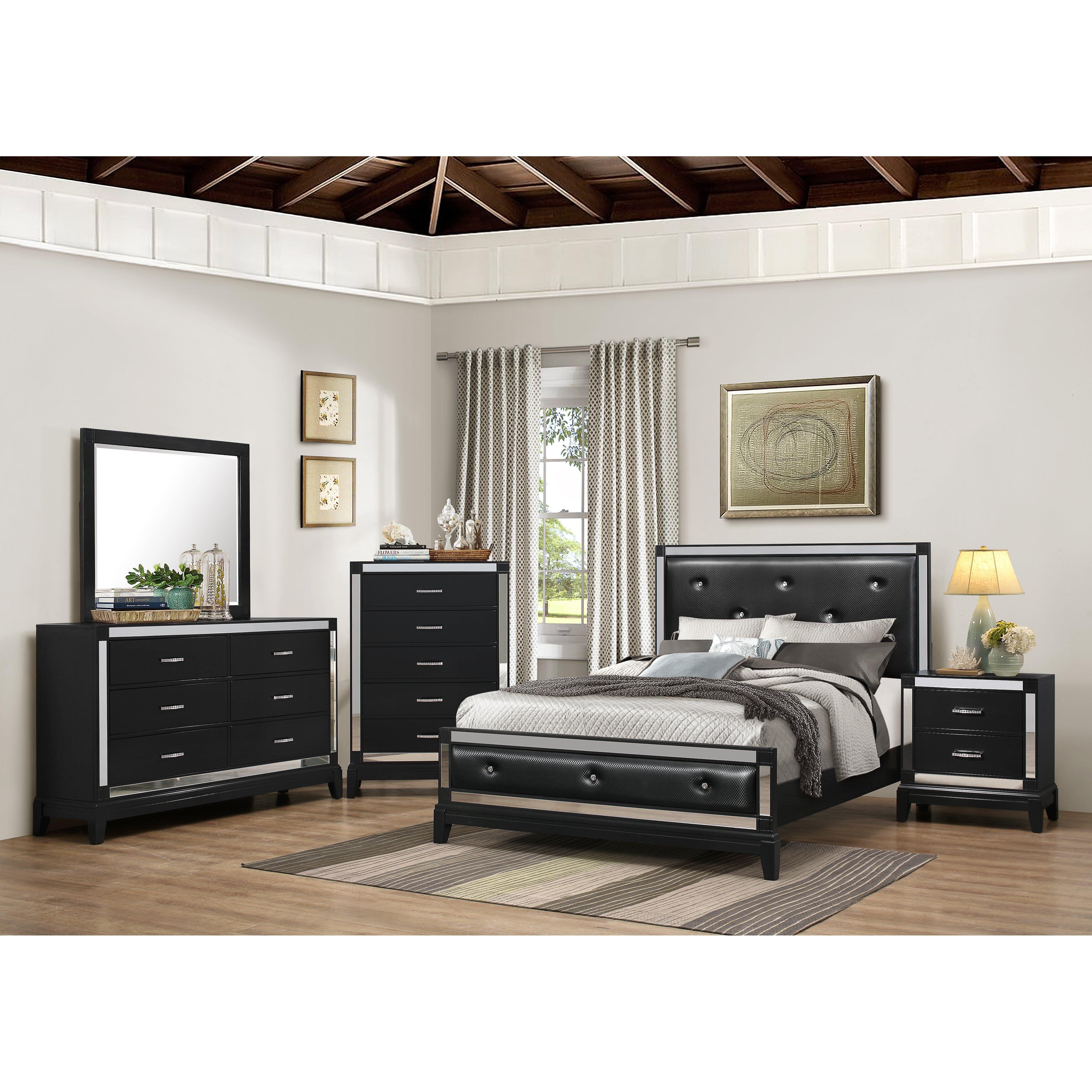 Simmons Bedroom Furniture House Of Hampton Simmons Casegoods Smethwick Panel Customizable