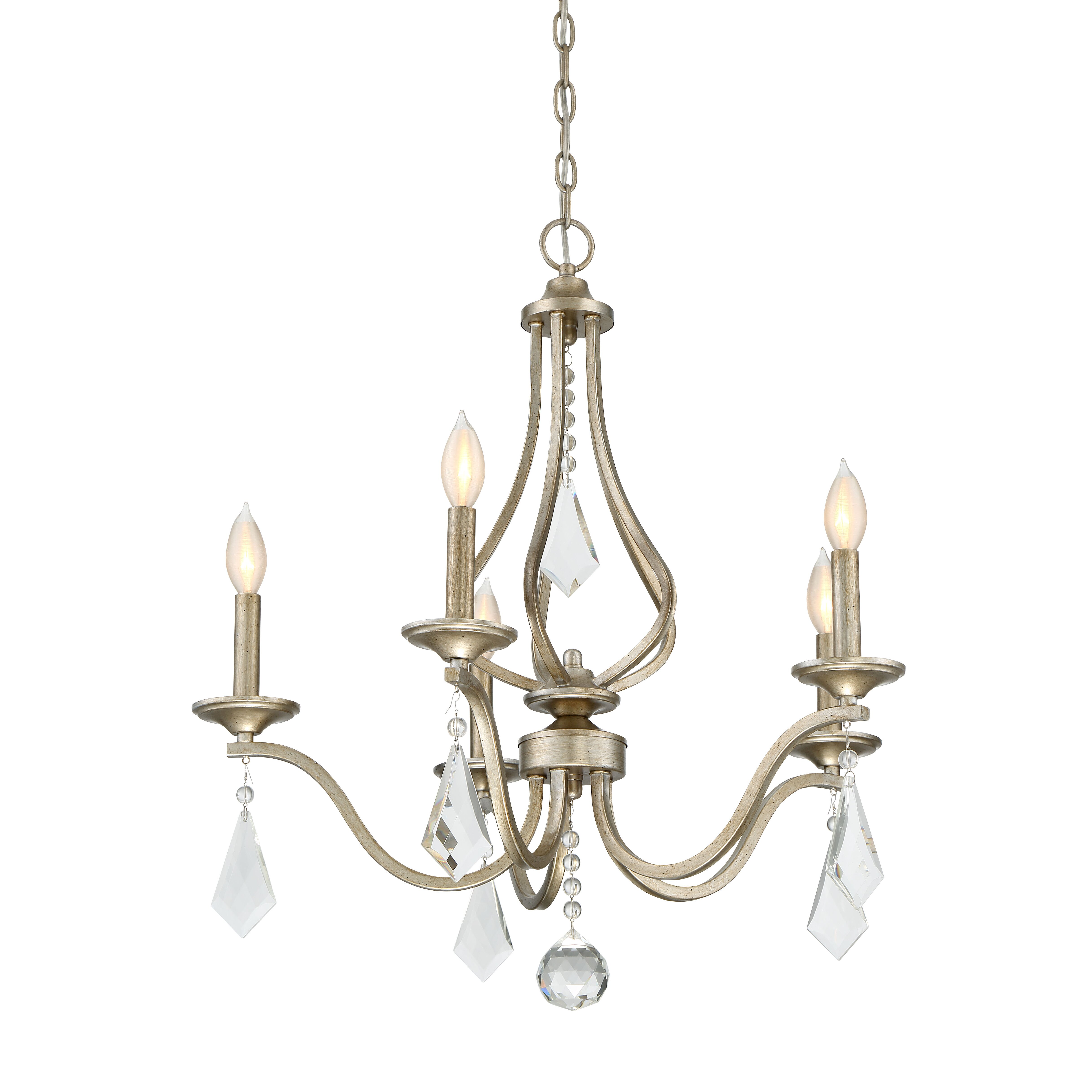 House Of Hampton Warner 5 Light Candle Style Chandelier