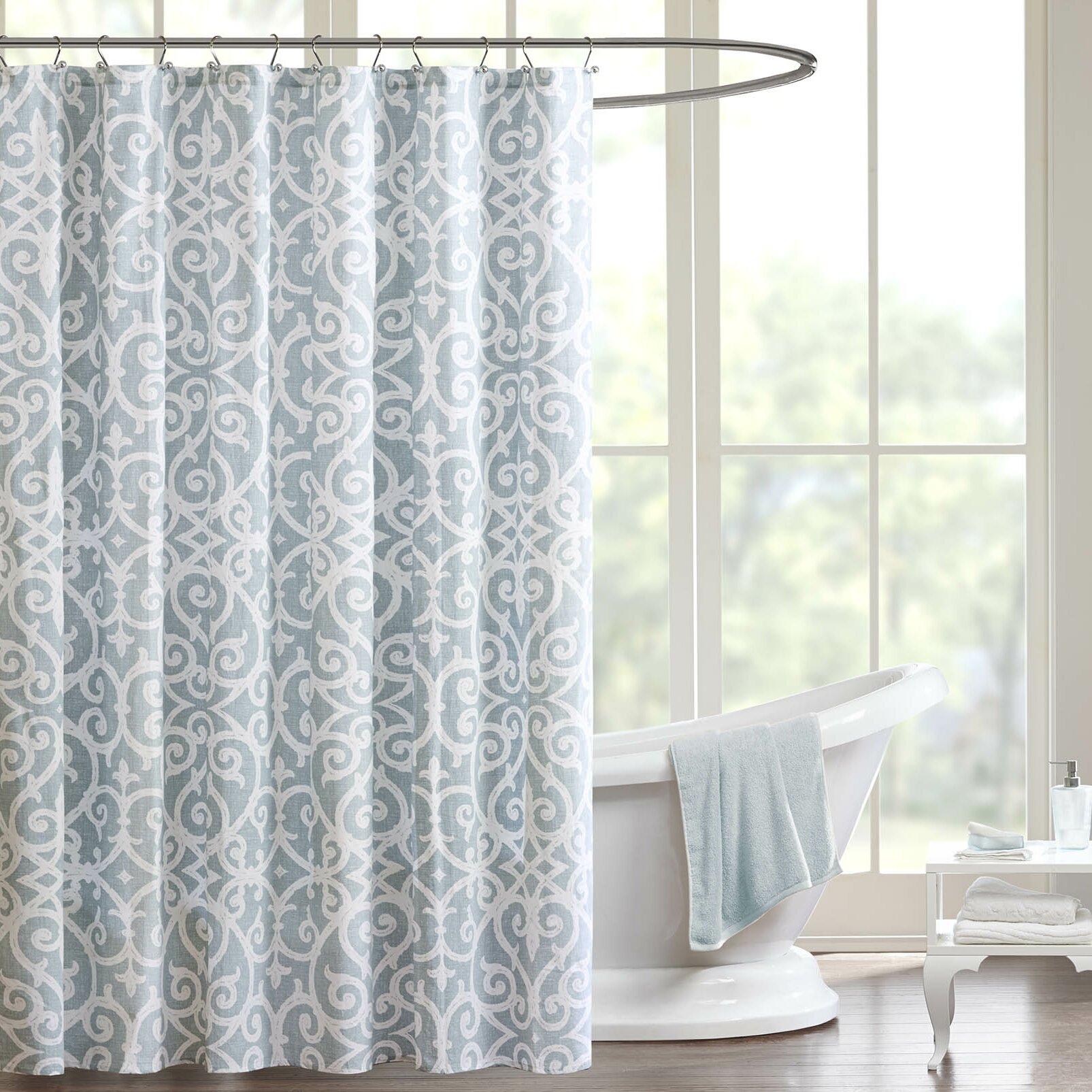 leopard print shower curtain set   Sanger Cotton Shower Curtain. Leopard print shower curtain set free image