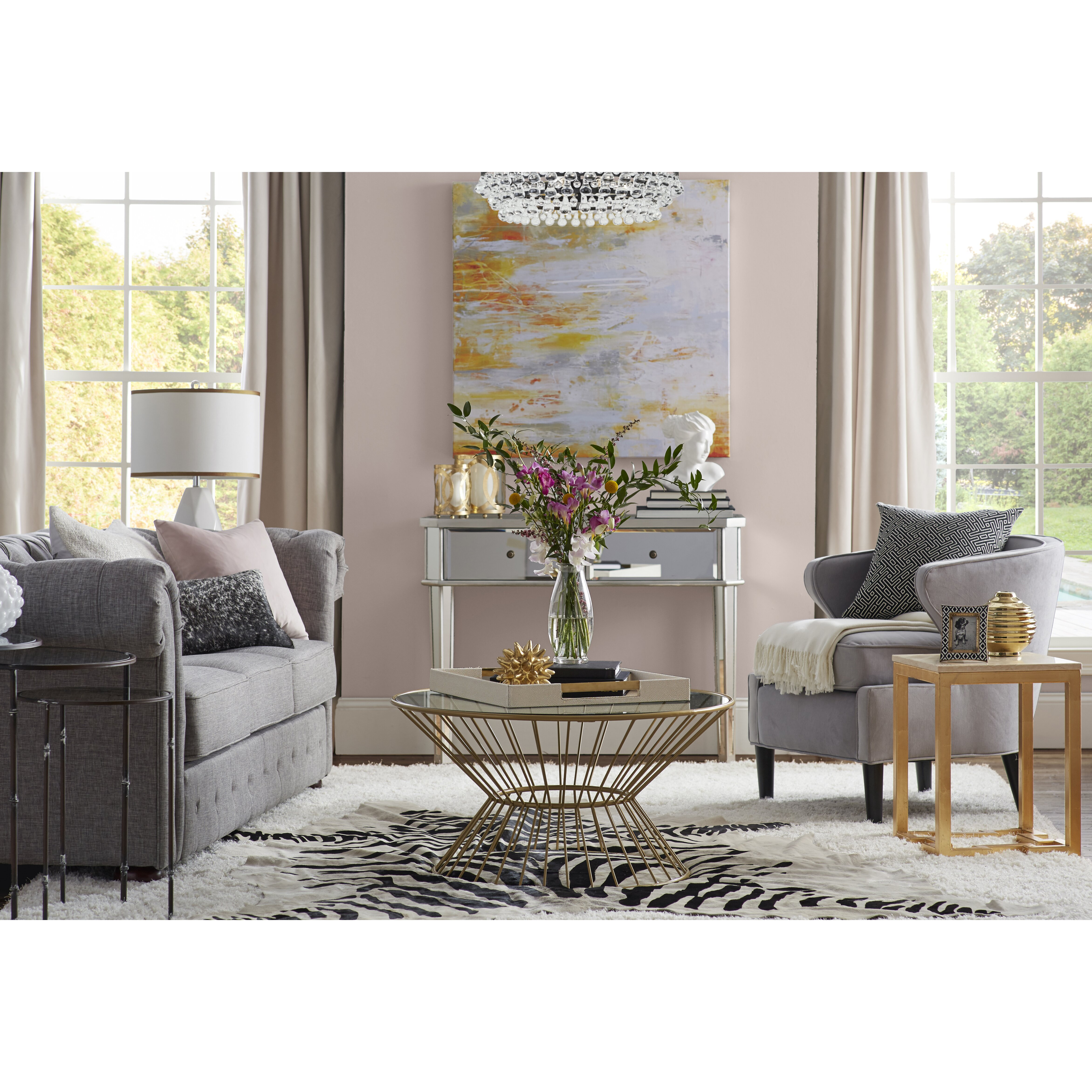 Living Room With Chesterfield Sofa Kellan 91 Chesterfield Sofa Reviews Joss Main