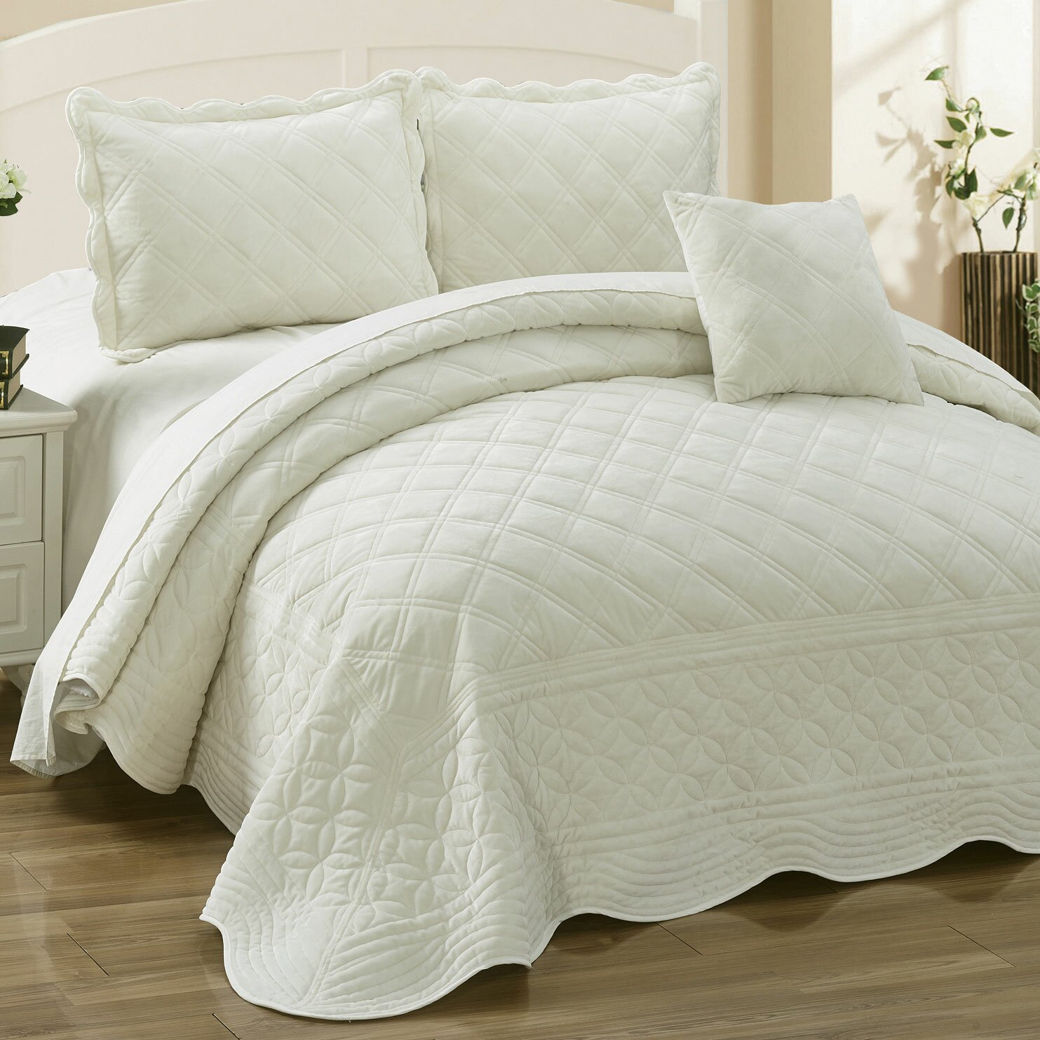 House Of Hampton Wilfred 4 Piece Quilt Set & Reviews