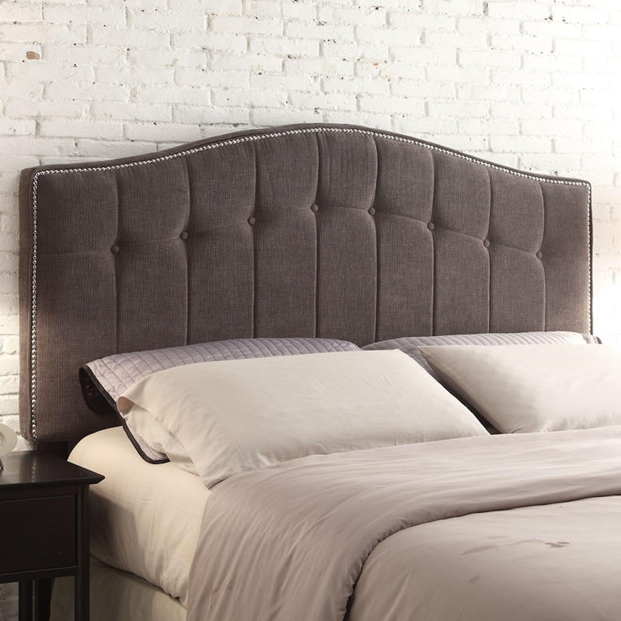 Napa Bedroom Furniture Chateau Imports Napa Upholstered Panel Headboard Reviews Wayfair