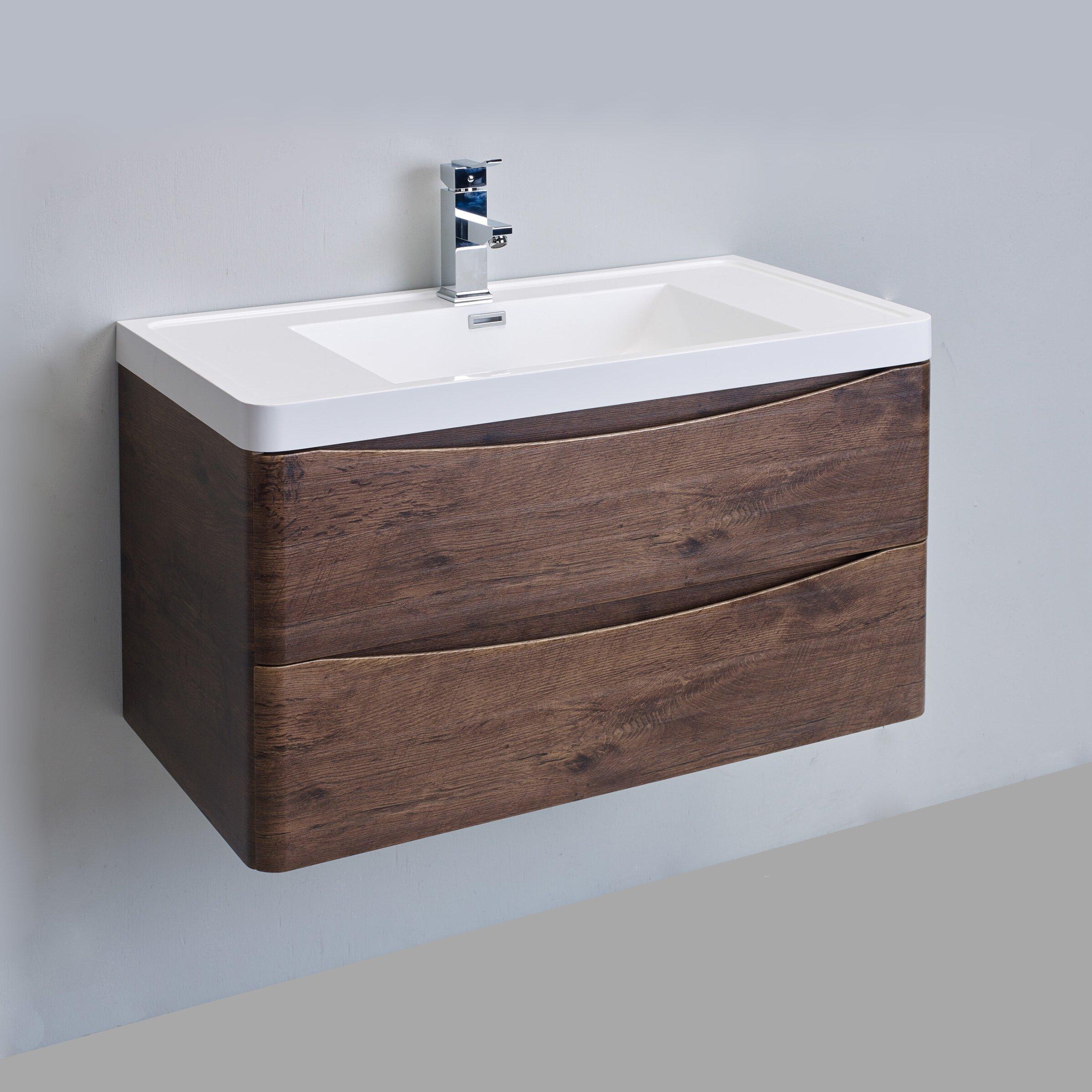 Bathroom Sink And Cabinet Eviva Smile 36 Single Bathroom Vanity Set Reviews Wayfair