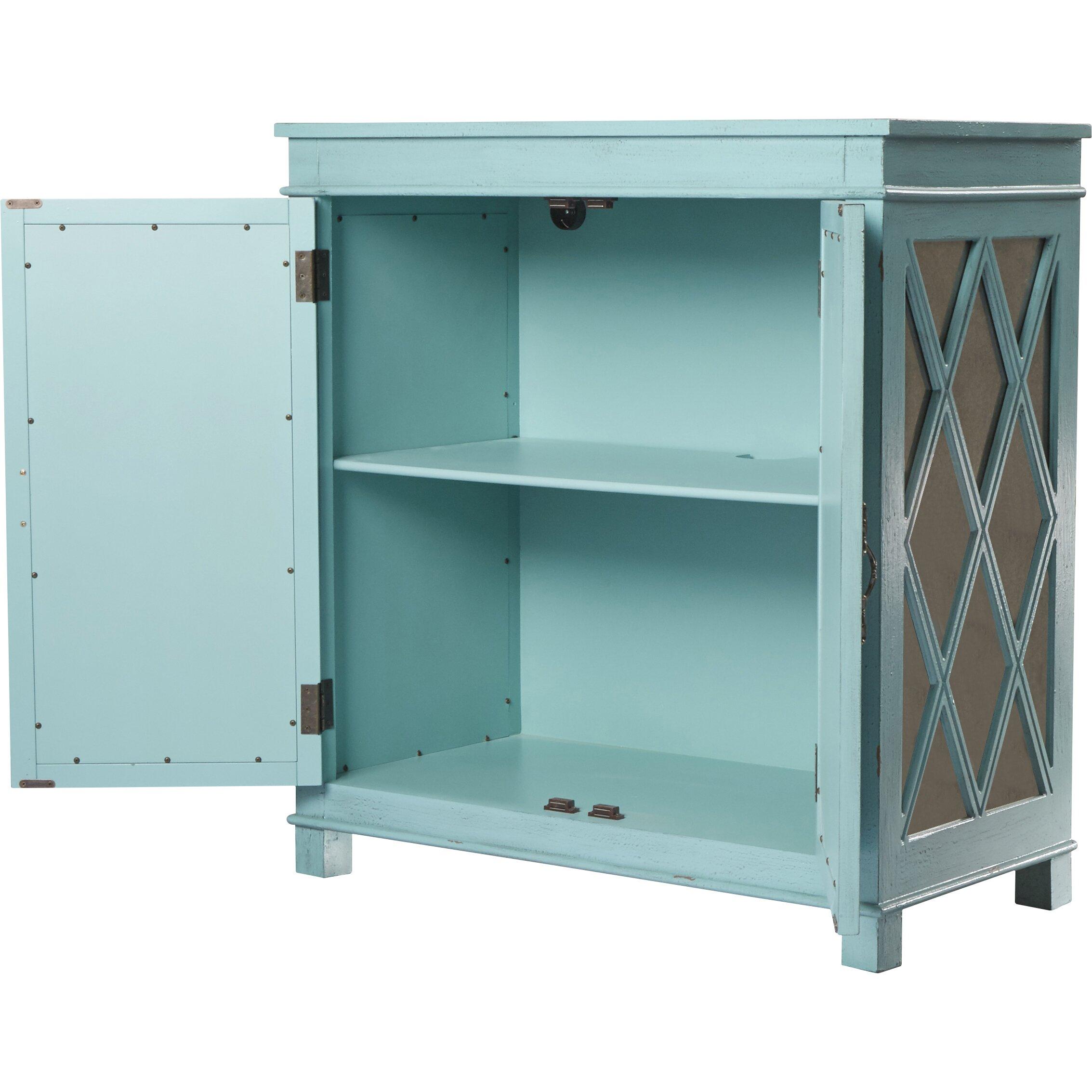 Bungalow Rose Navya Wood Storage Bedroom Bench Reviews: Bungalow Rose Bernoussi 2 Door Accent Cabinet