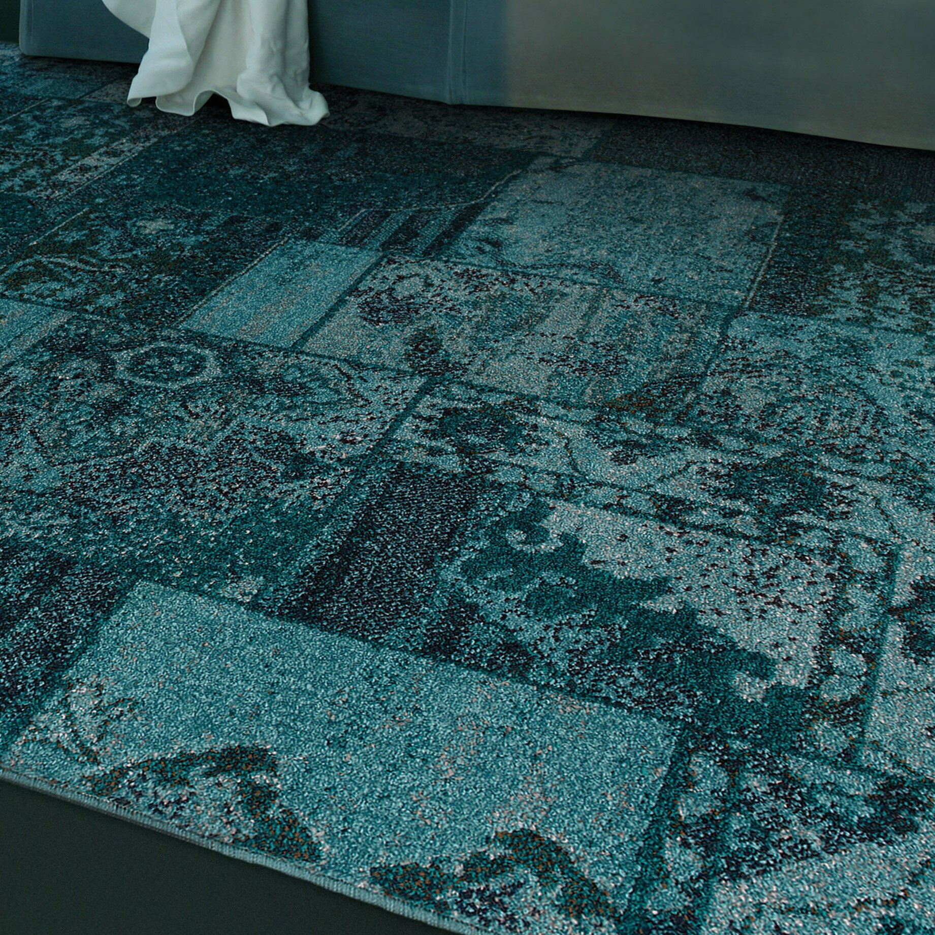 Teal Colored Rugs