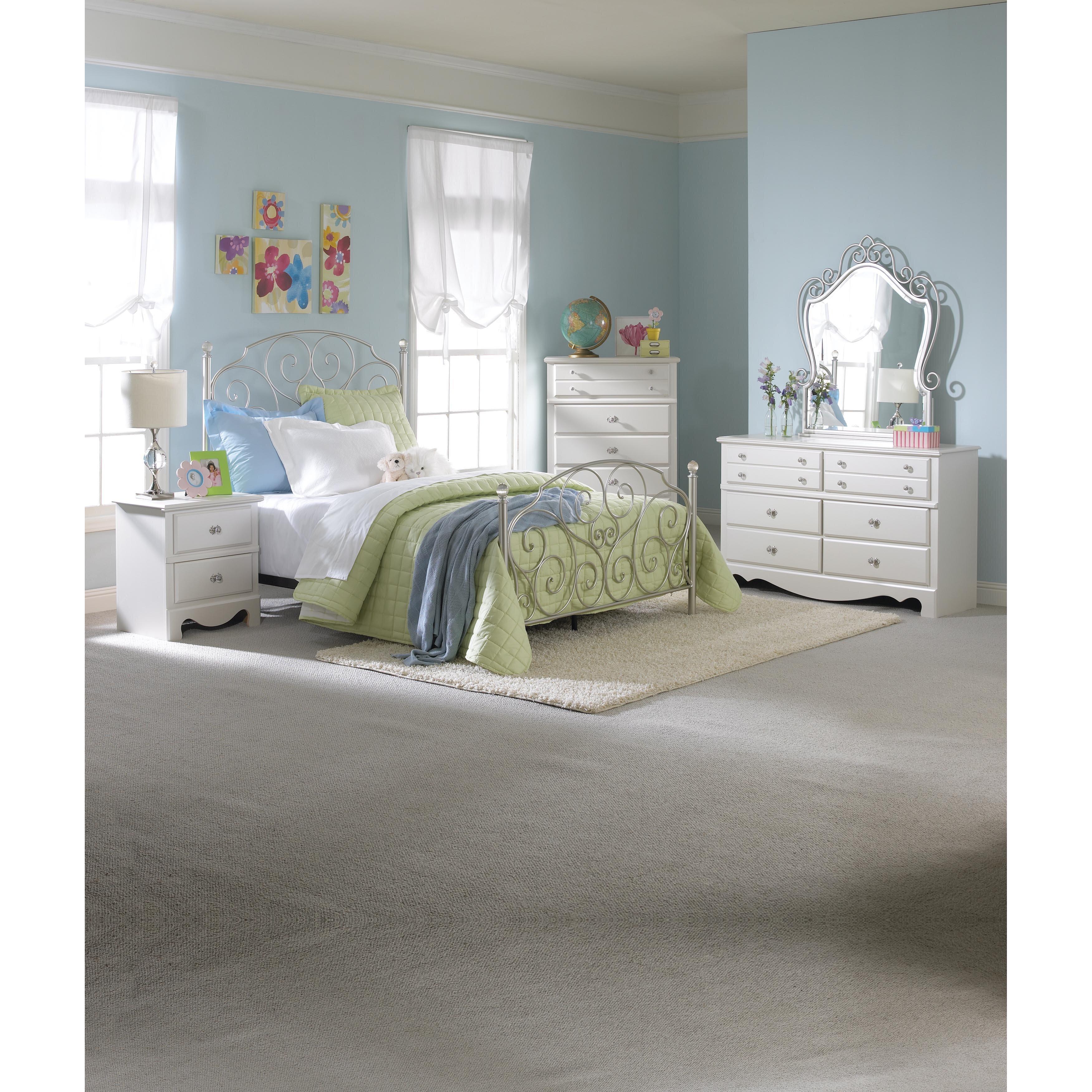 gabriella panel bedroom set - Kids Bedroom