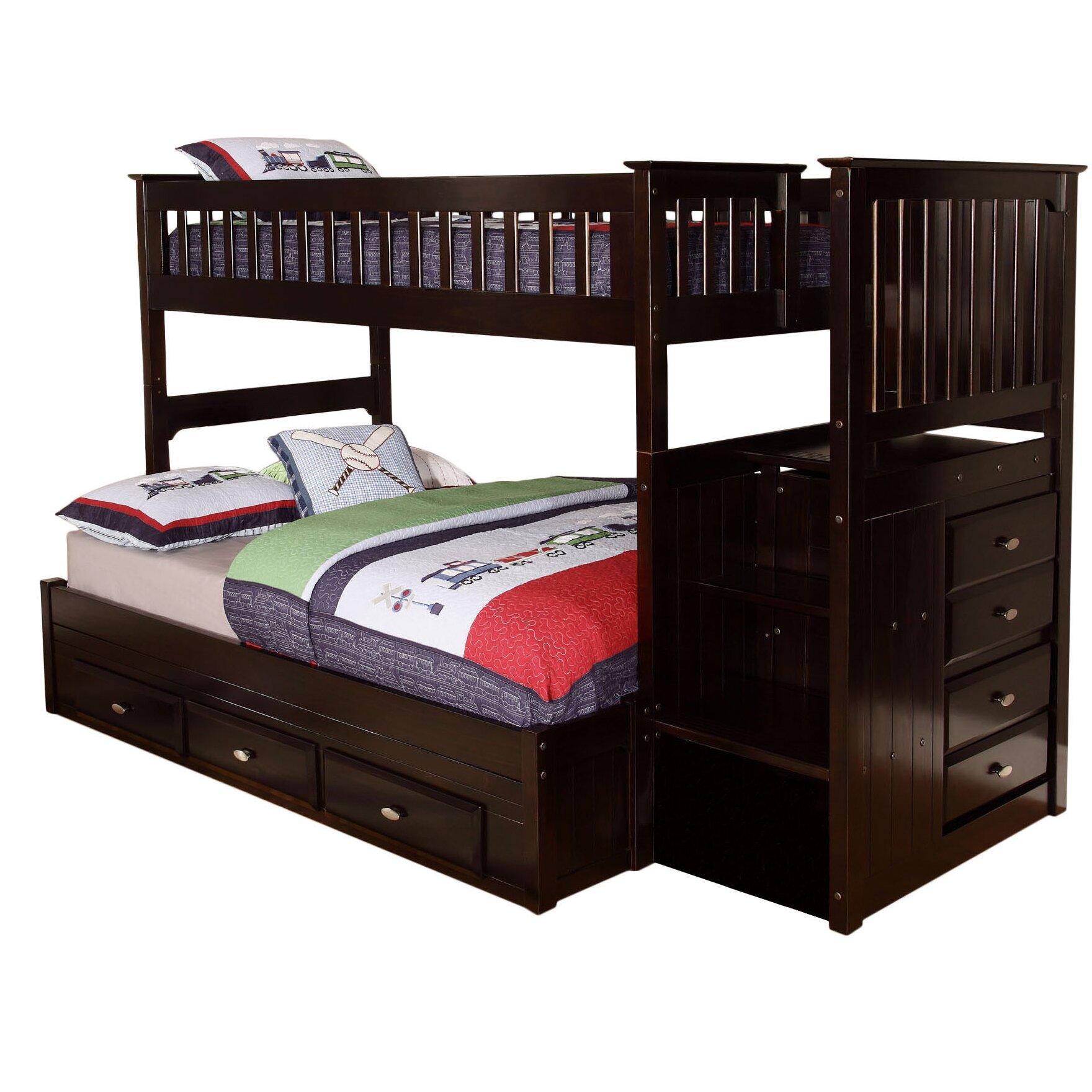 Viv Rae Kaitlyn Twin Over Full Bunk Bed Amp Reviews Wayfair