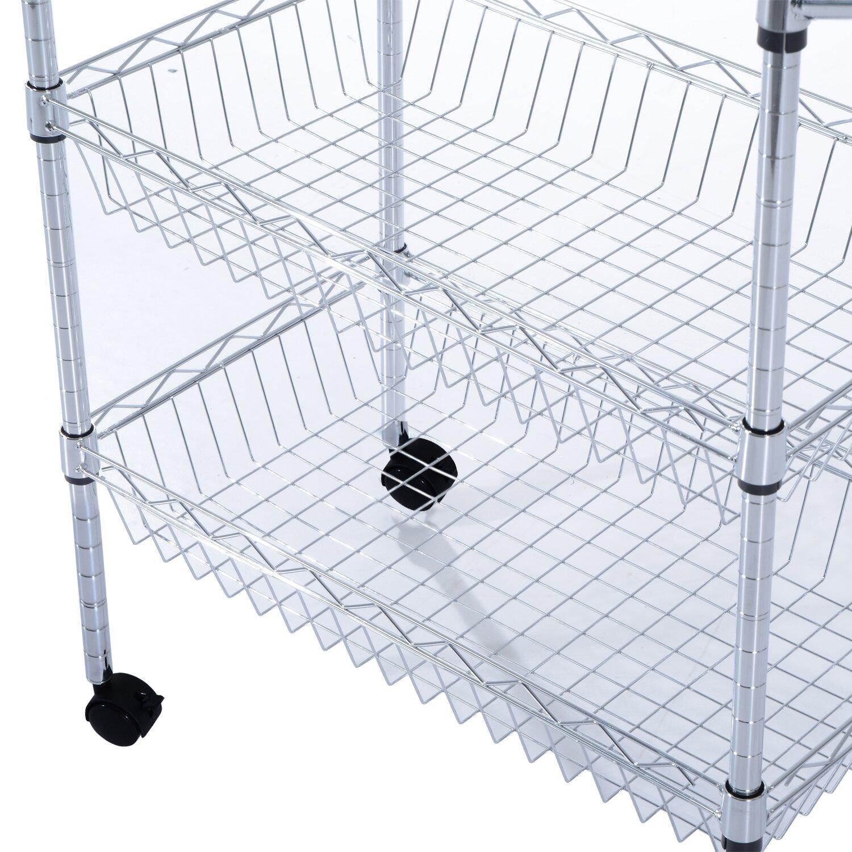Kitchen Basket Portable Wire Kitchen Basket Birch Lane
