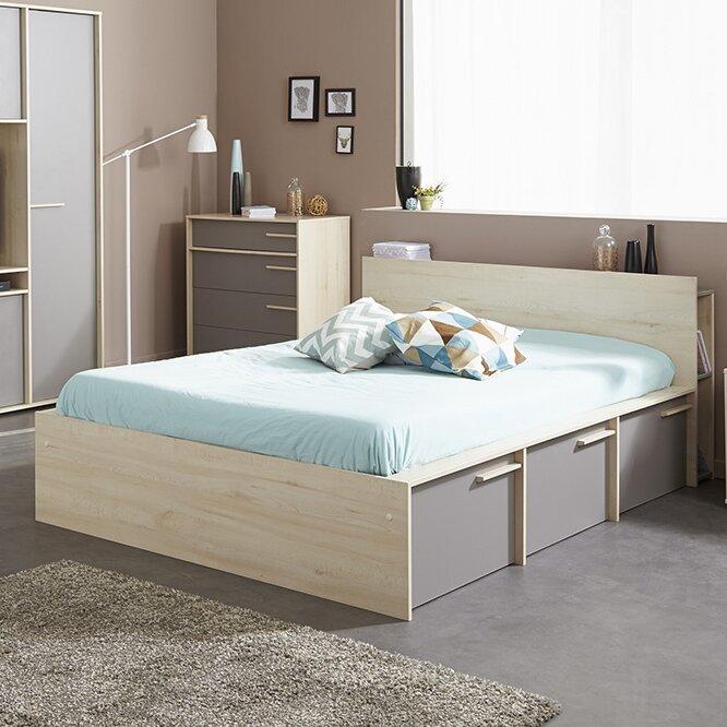 Parisot Connect Full Double Storage Platform Bed Wayfair