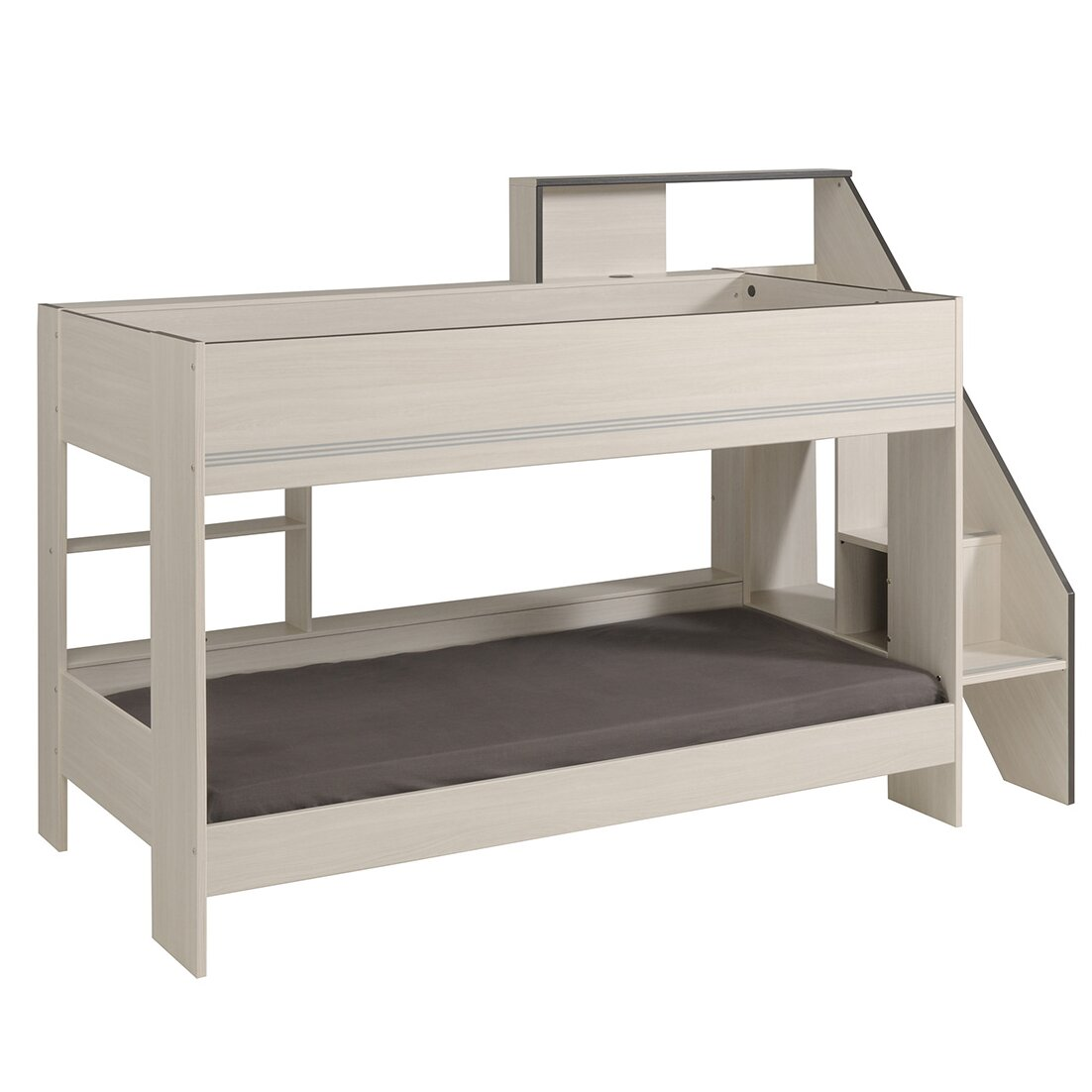 Parisot Gravity Twin Over Twin Bunk Bed with Trundle
