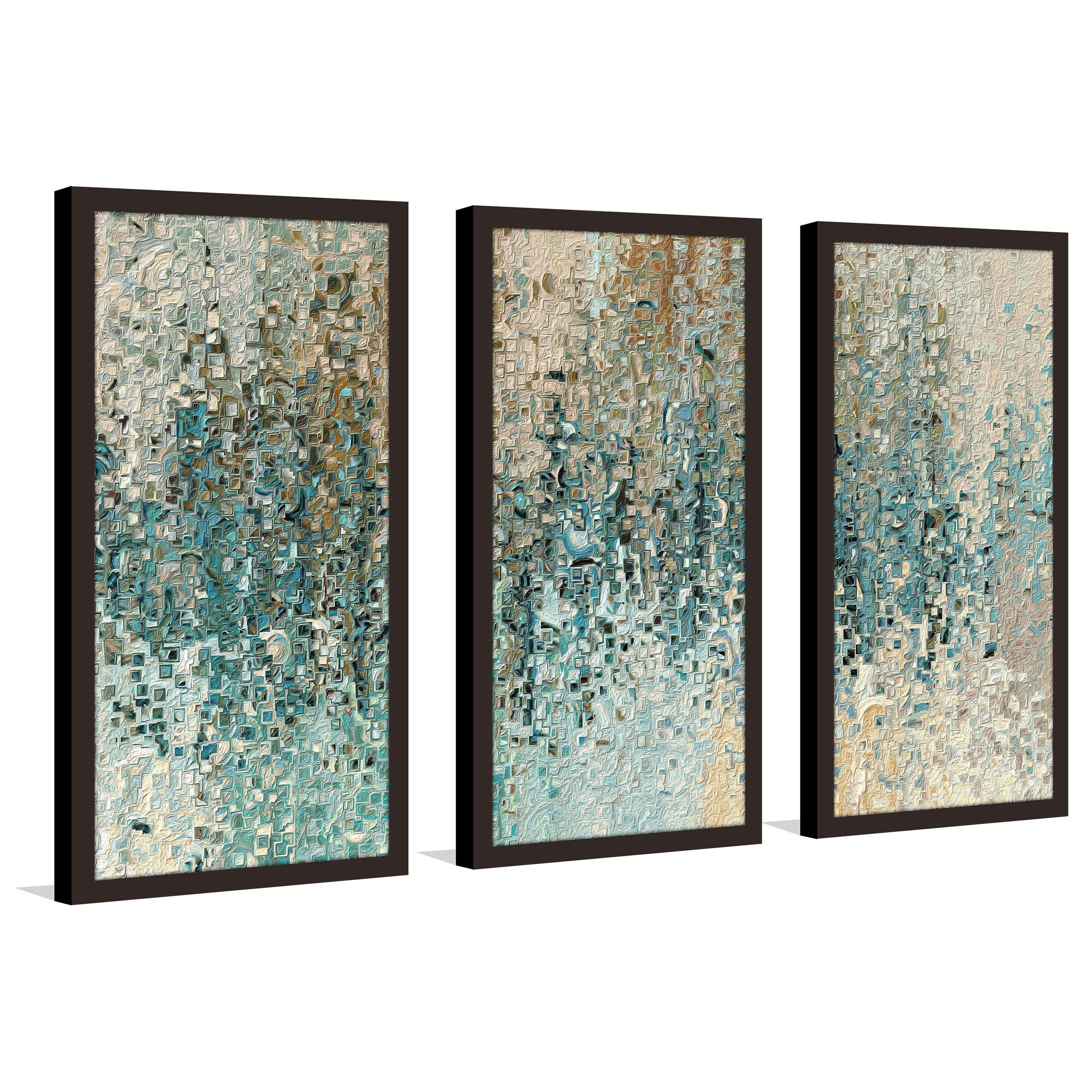 three piece wall art home decor 3 piece wall art forest multi