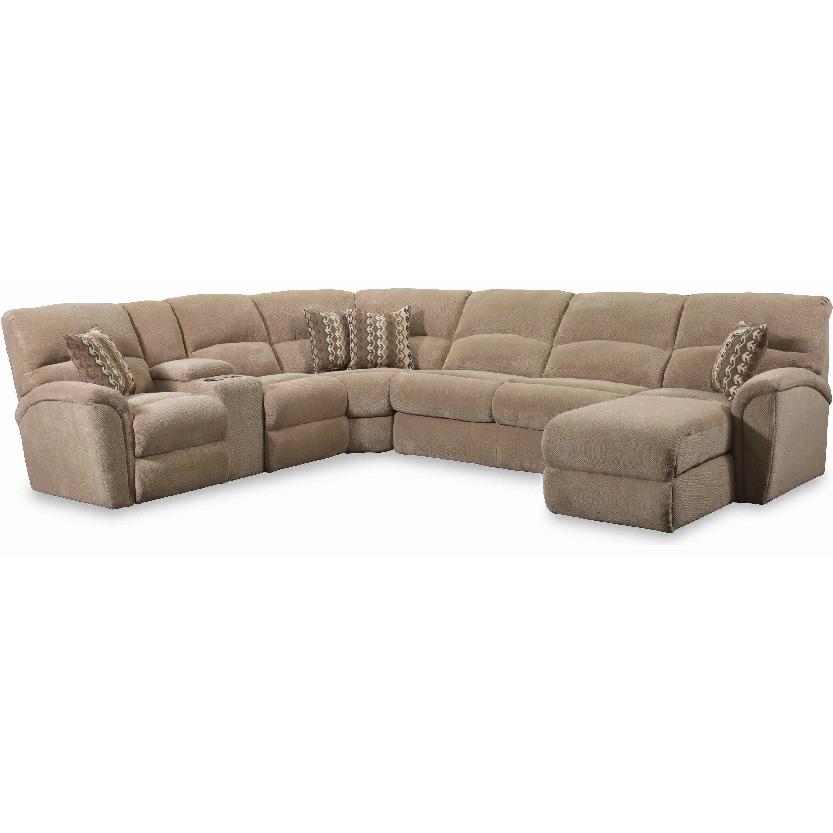 Ricardo Leather Sectional Sofa – Loopon Sofa