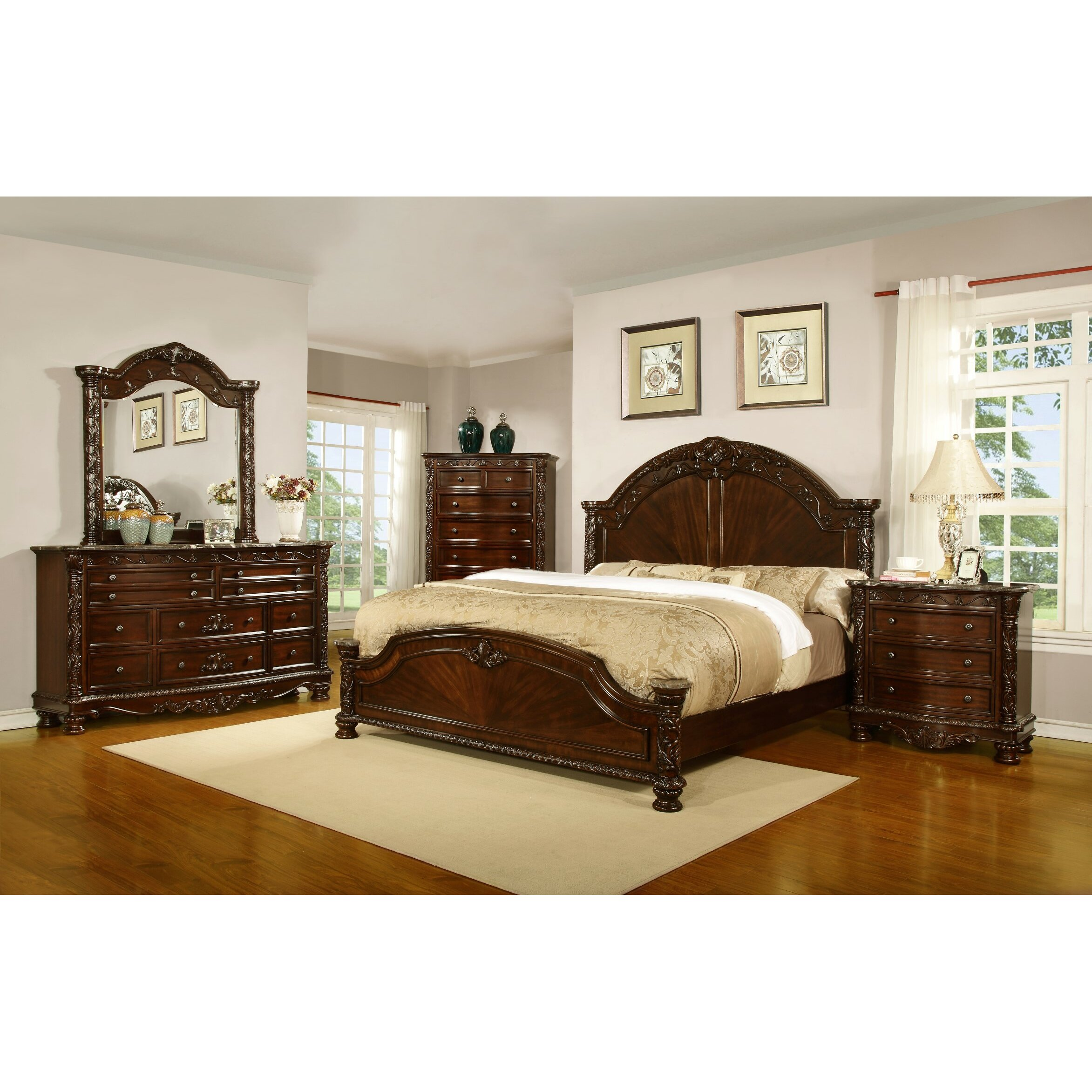 Leather Bedroom Suites Sleigh Bedroom Sets Youll Love Wayfair