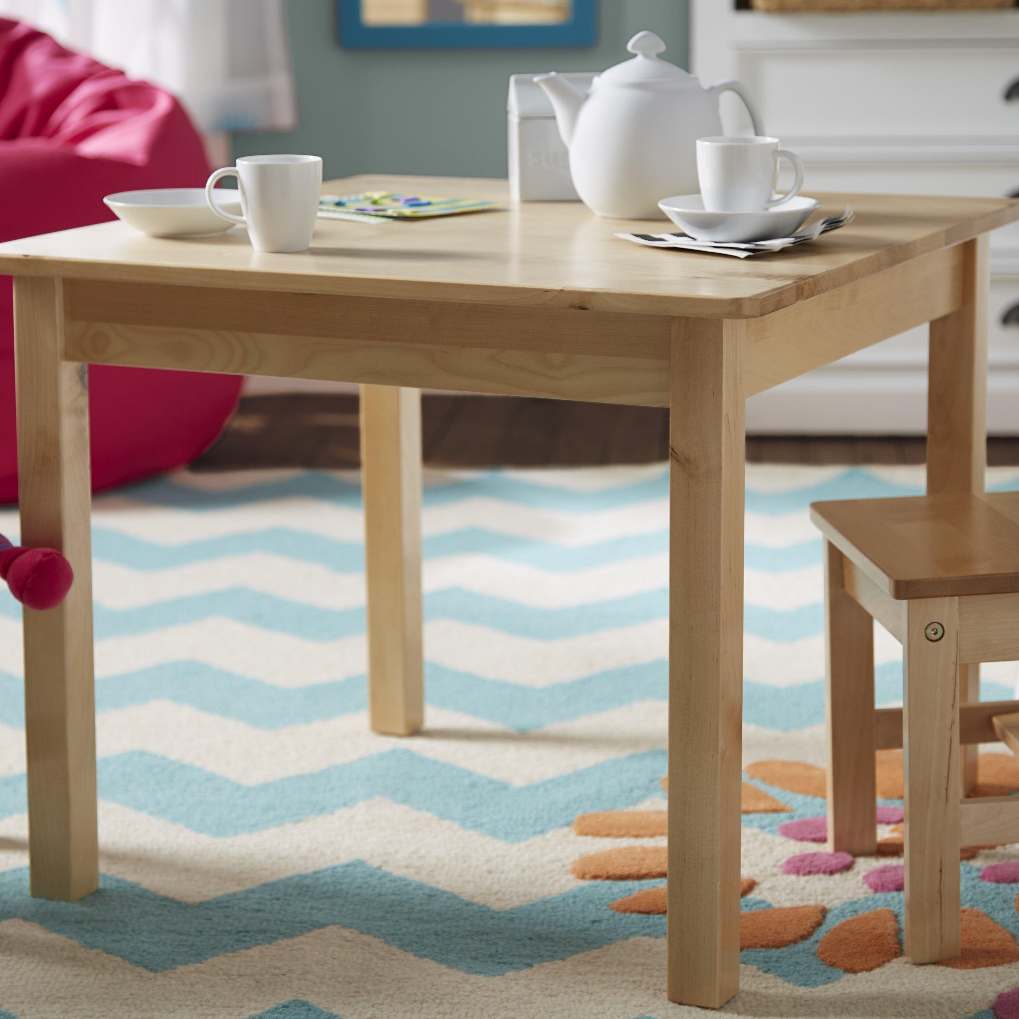 Kidkraft Heart Table And Chair Set Kidkraft Aspen Kids 3 Piece Table And Chair Set Reviews Wayfair