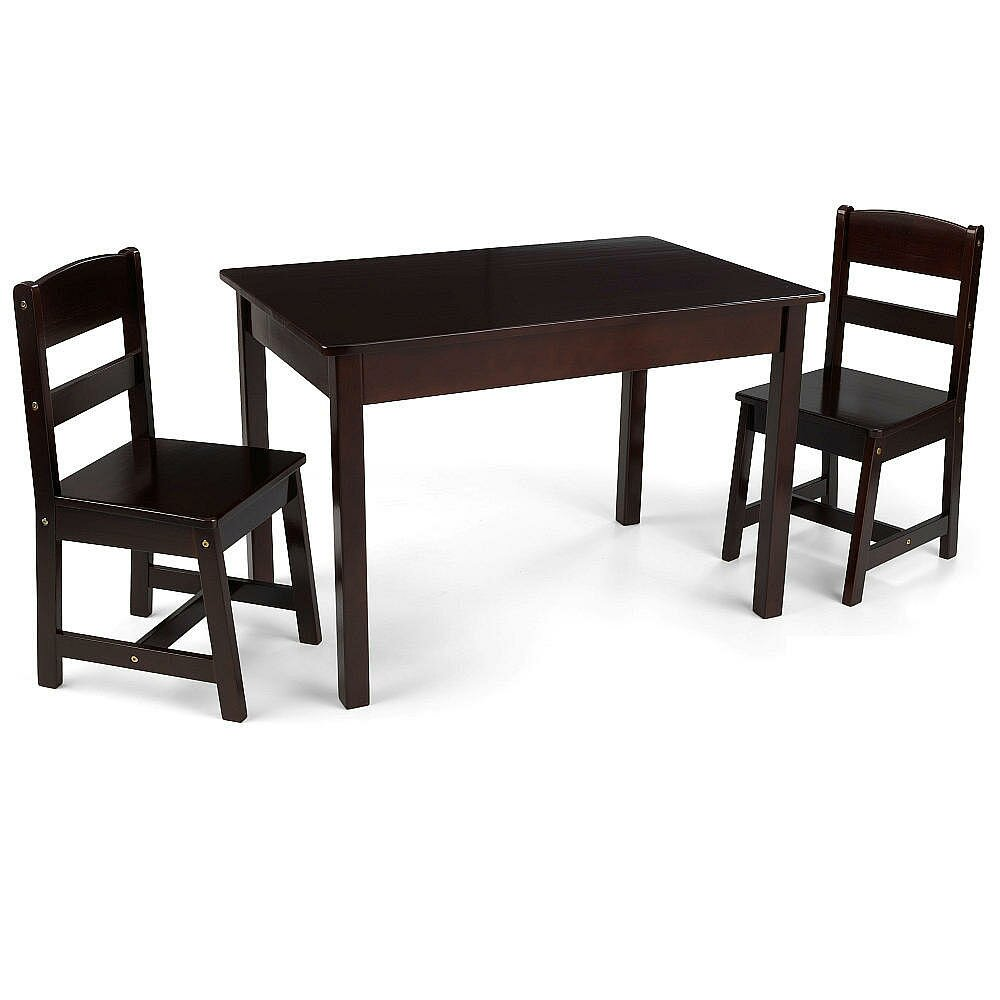 KidKraft Kids 3 Piece Wood Table amp Chair Set amp Reviews  : KidKraft Kids 3 Piece Wood Table and Chair Set from www.wayfair.ca size 1000 x 1000 jpeg 67kB