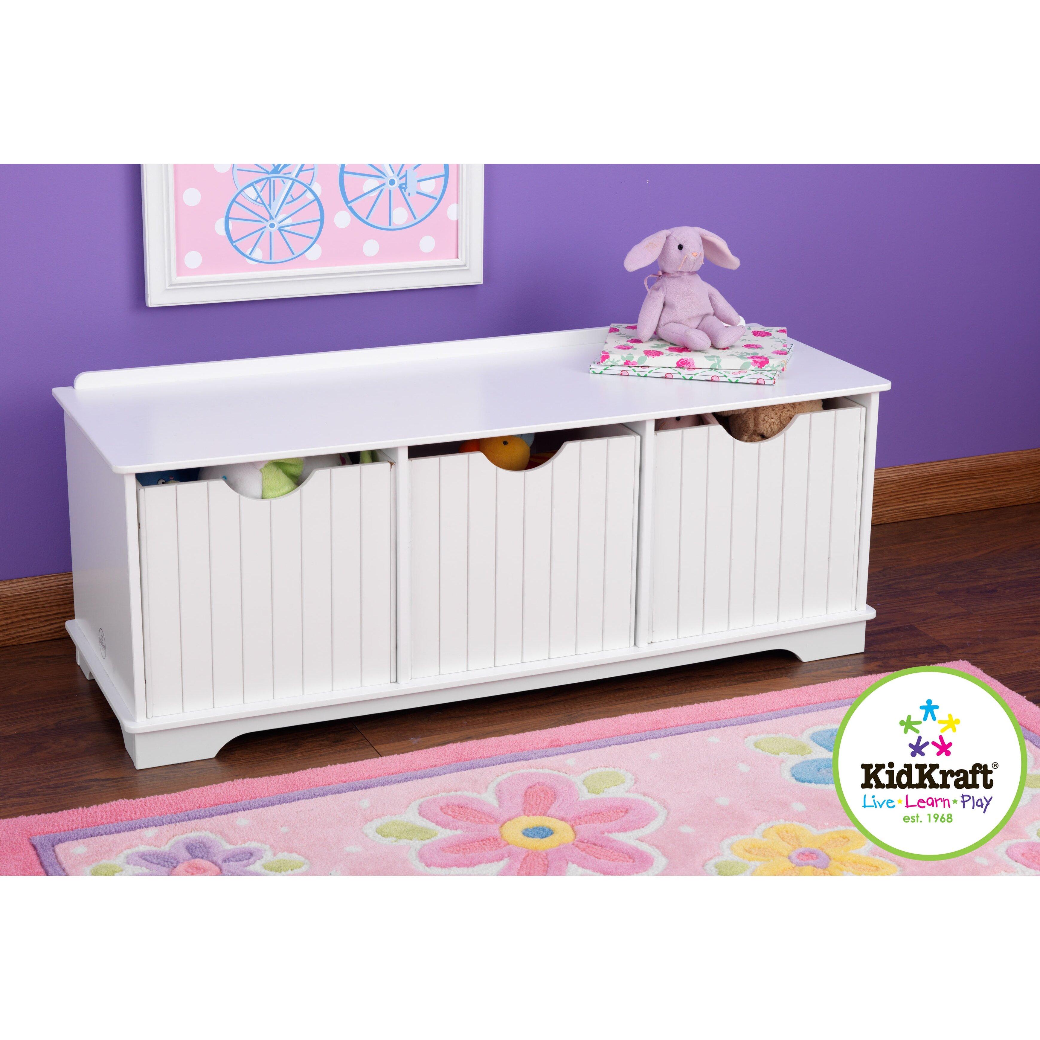 Kidkraft Petal Pink Kitchen Kidkraft Toy Boxes Youll Love Wayfair