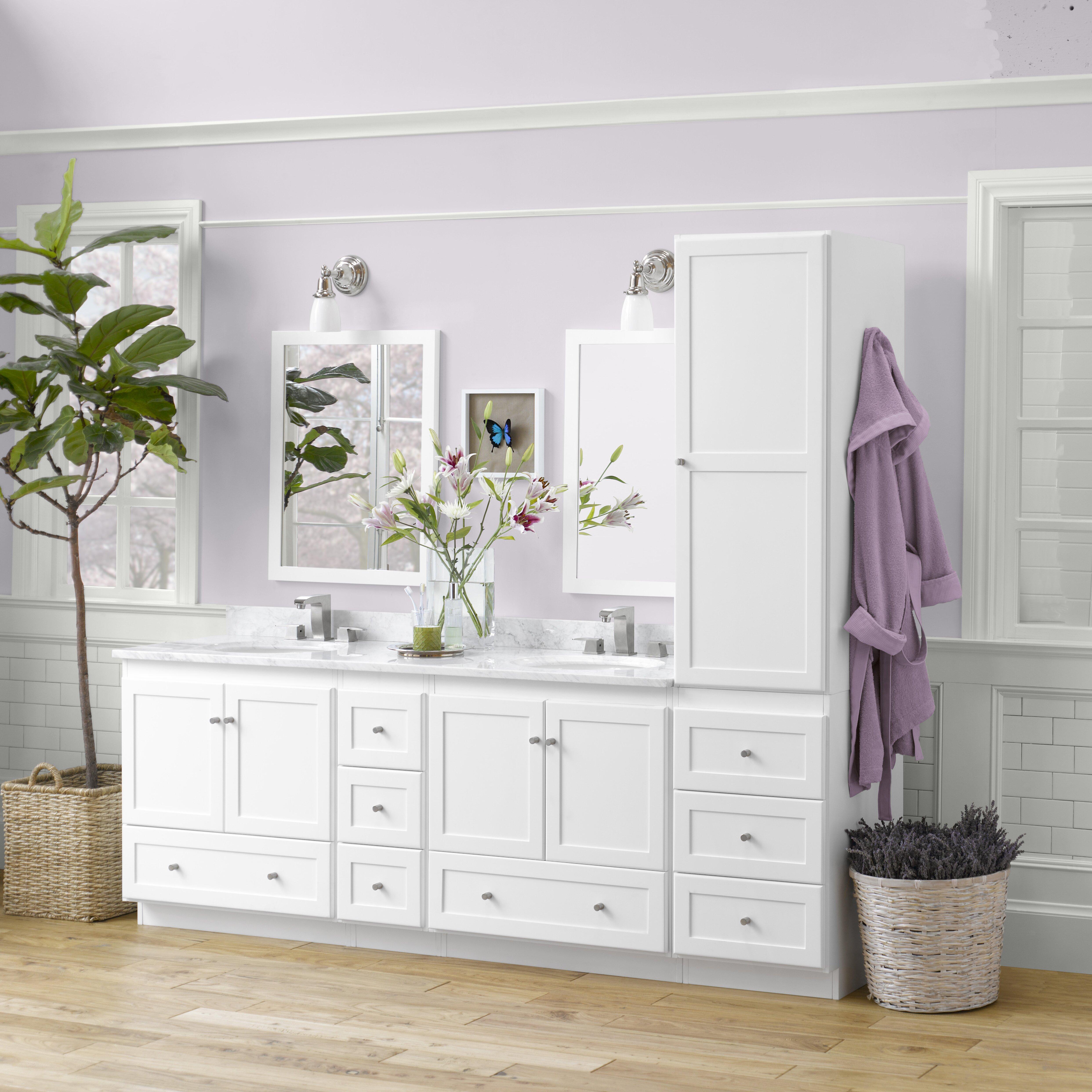 Bathroom Vanities Woodbridge Wood Shaker Bathroom Vanity Wayfair