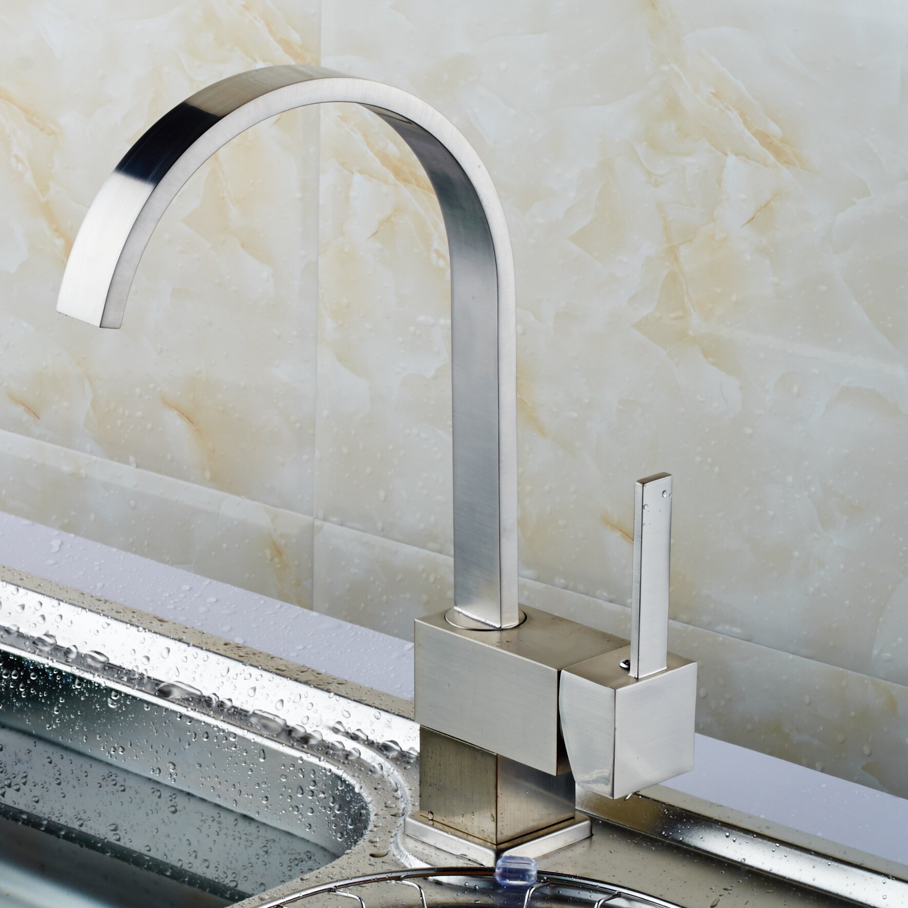 upscale designs by ema single handle deck mounted kitchen upscale designs lead free single handle pull down sprayer