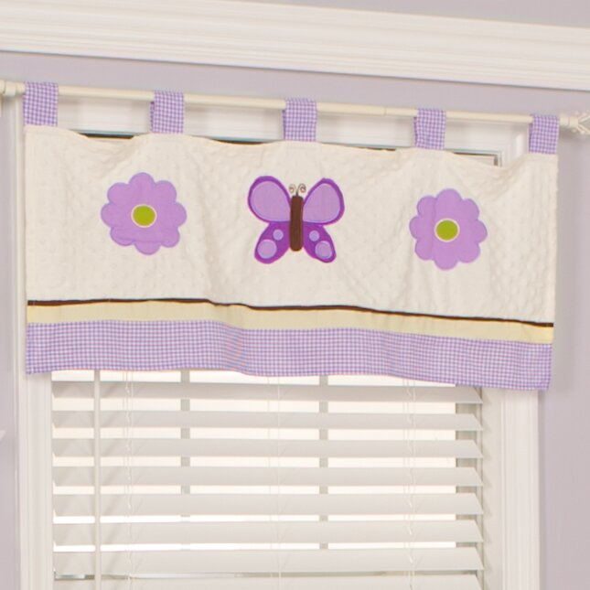 Curtains Ideas butterfly valance curtains : Pam Grace Creations Lavender Butterfly 38