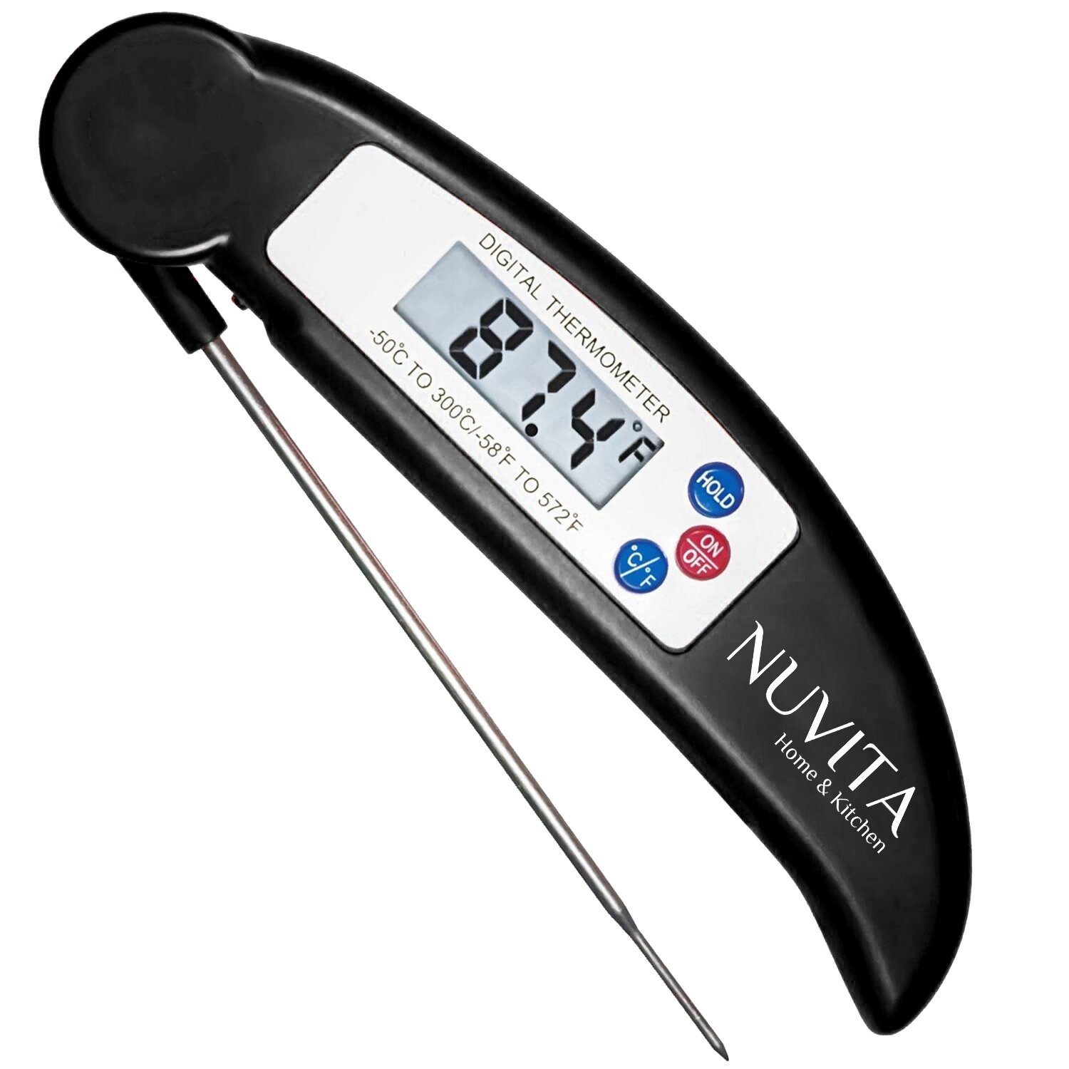 All clad instant read thermometer - Nuvita Instant Read Digital Thermometer