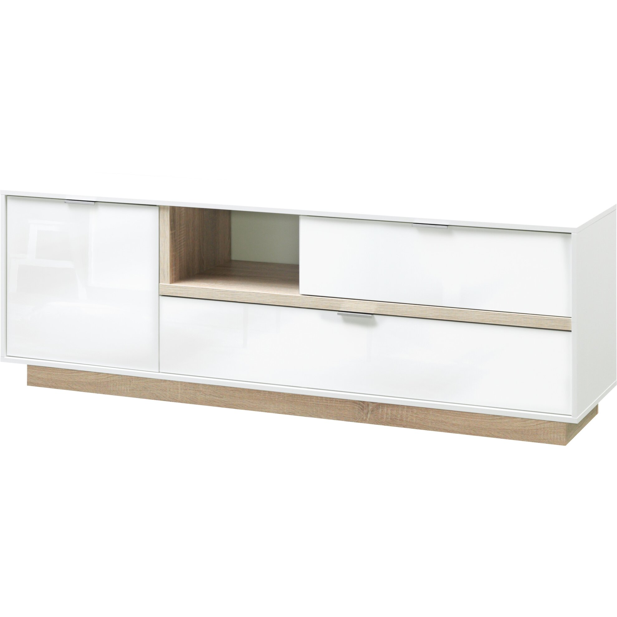 15 sparen cs schmal tv lowboard my ell nur 239 99 cherry m bel wayfair. Black Bedroom Furniture Sets. Home Design Ideas