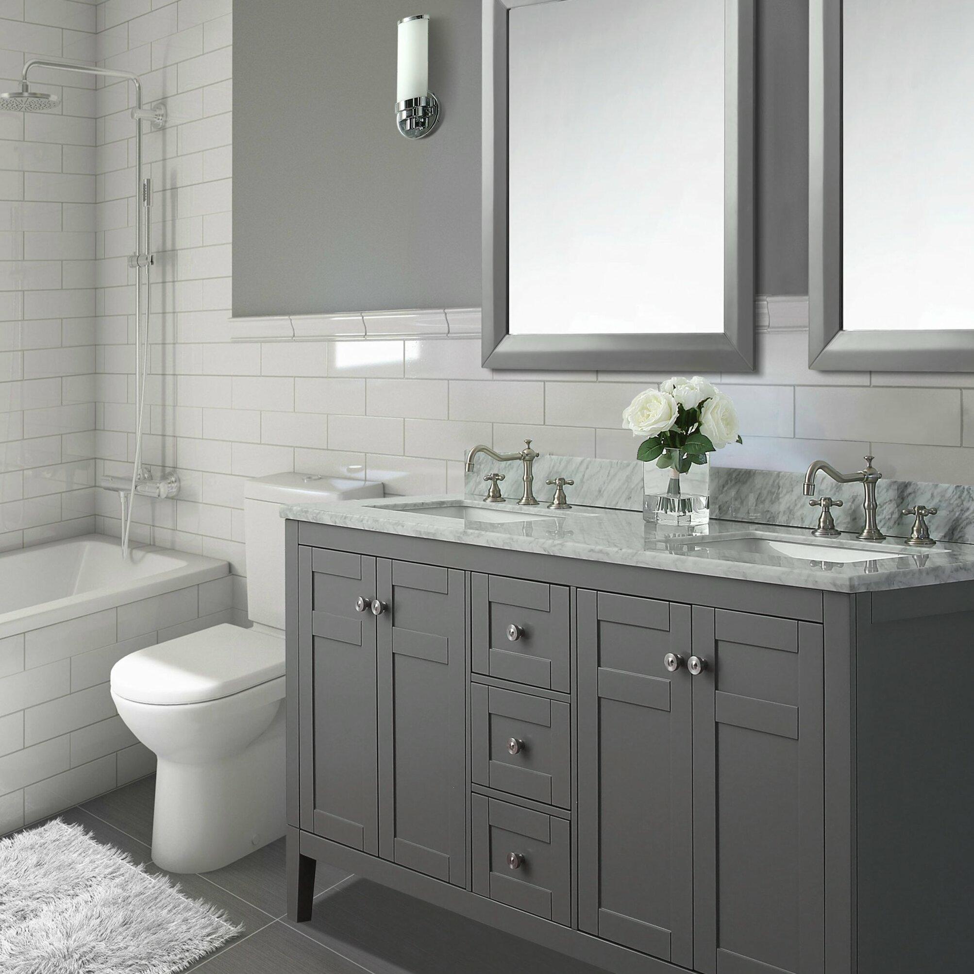 Ancerre Designs Maili 60 quot  Double Bath Vanity Set. Ancerre Designs Maili 60  Double Bath Vanity Set   Reviews   Wayfair